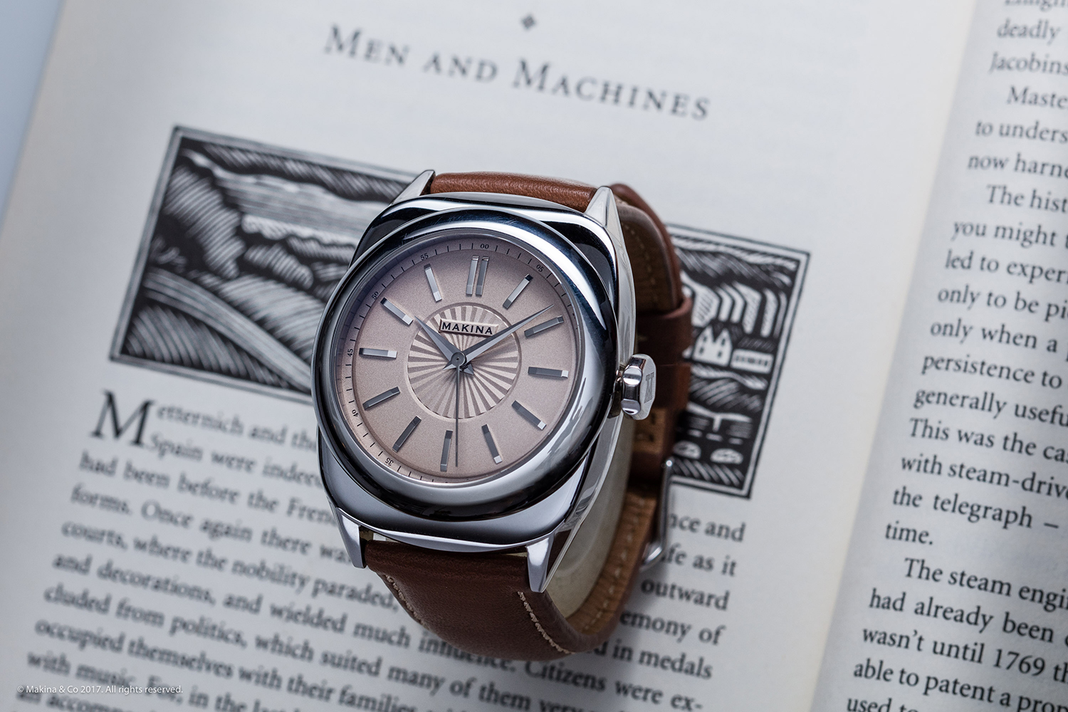 Introducing Makina, watches with a personal touch