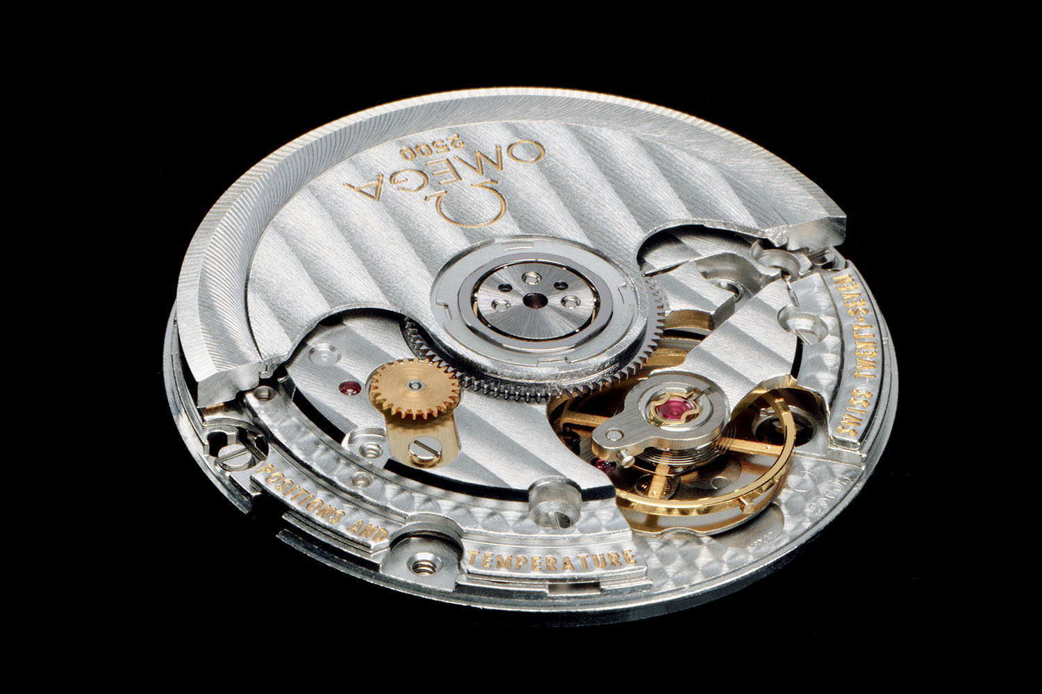 Omega Calibre 2500 Co-Axial escapement
