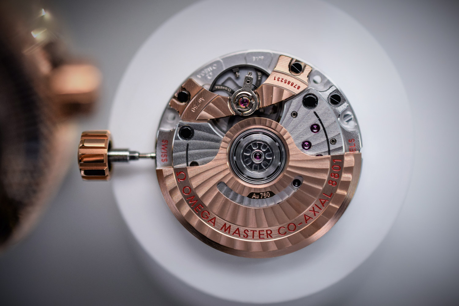 Omega Calibre Master Chronometer Co-Axial 8801