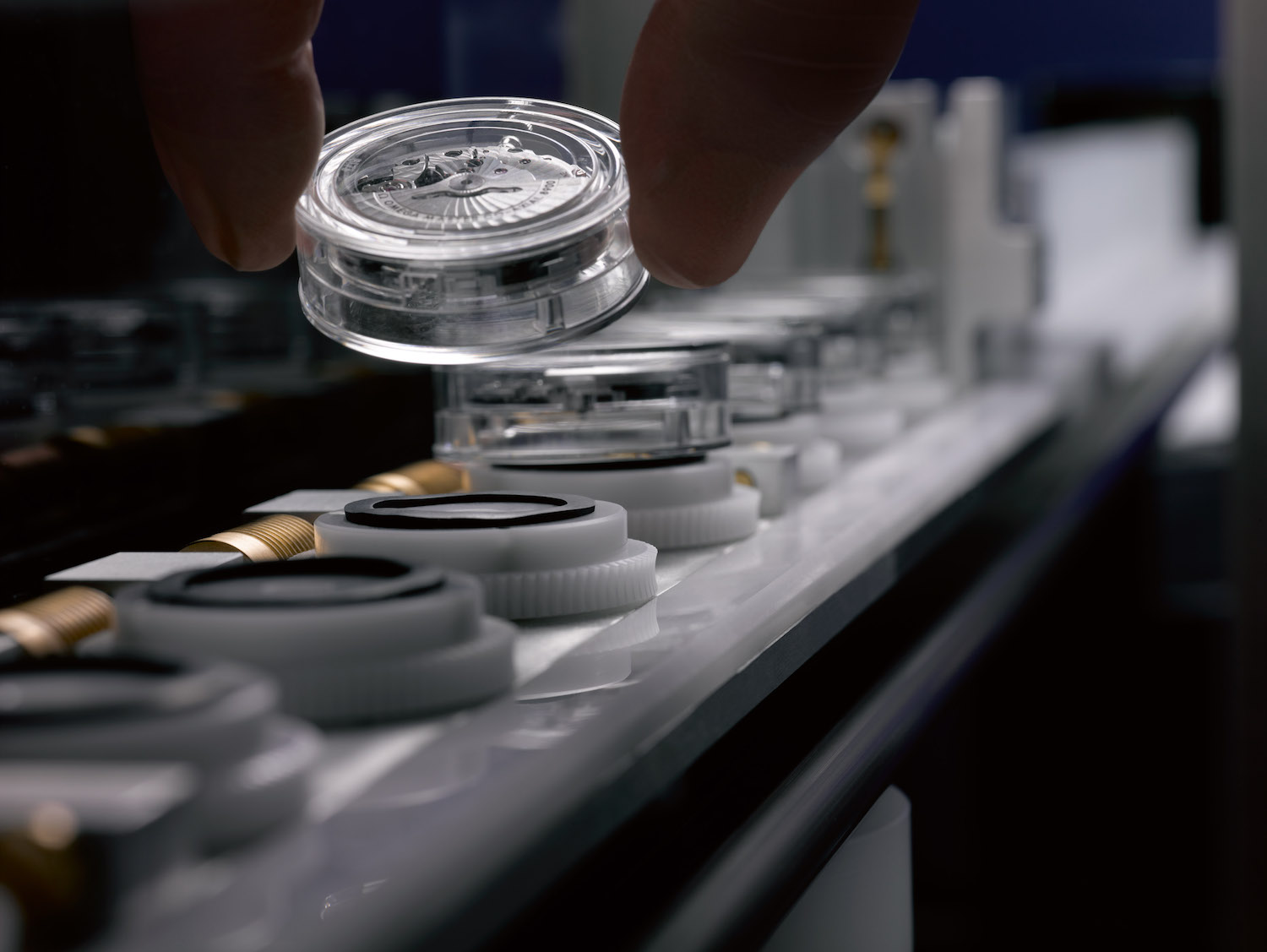 Omega Co-Axial Master Chronometer production line