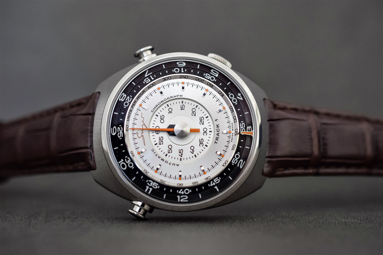 Singer Track1 Chronograph Reimagined
