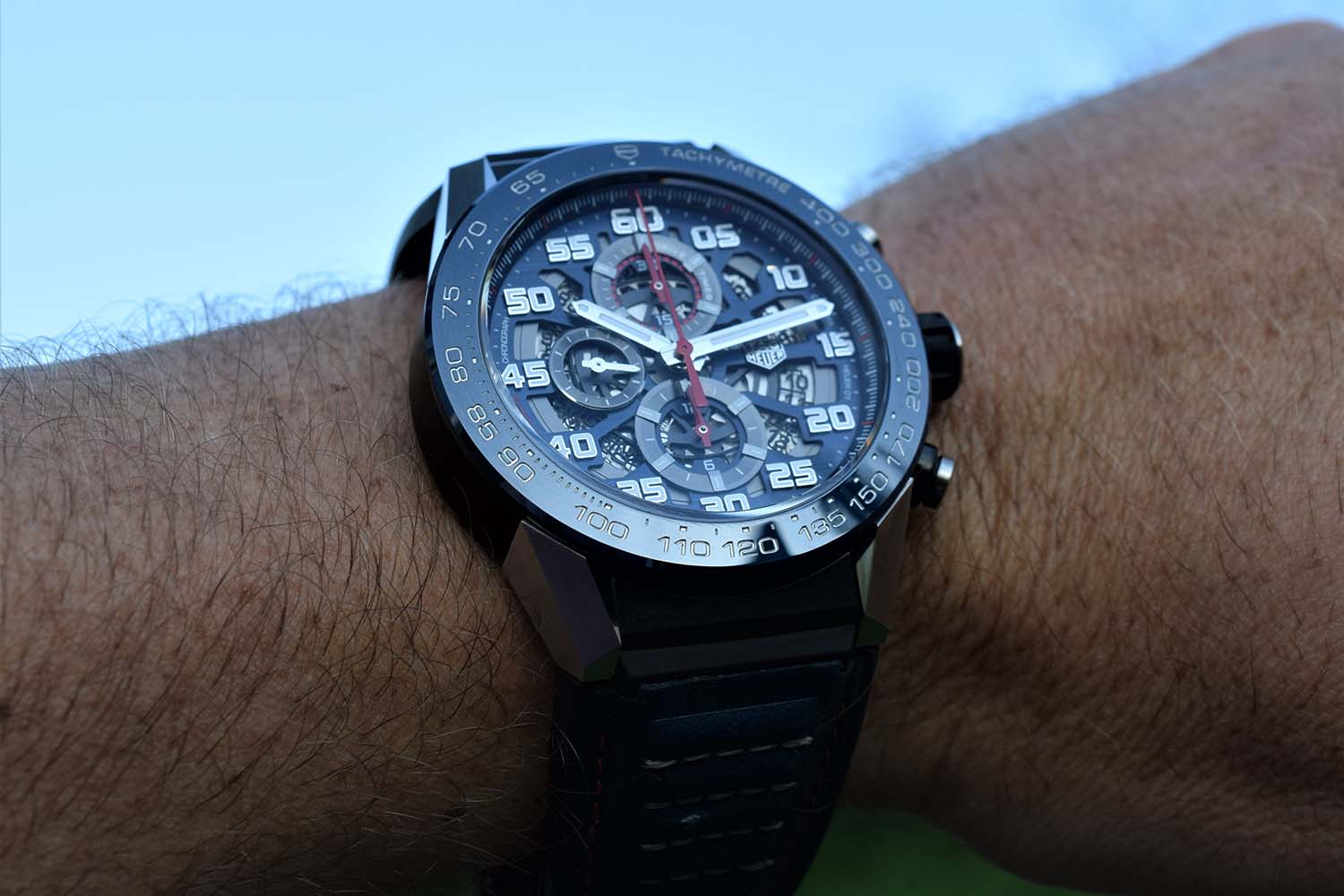 tag heuer carrera heuer01 red bull racing special edition