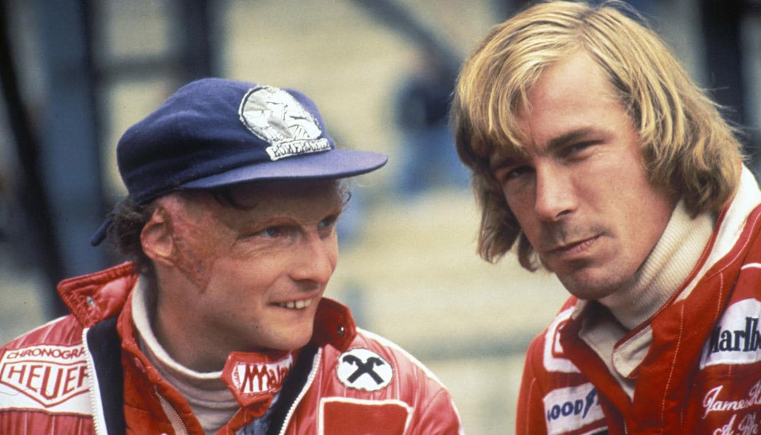 1976_Formula_1_James_Hunt_Niki_Lauda_Rivalry_and_Comradery_at_the_same_time