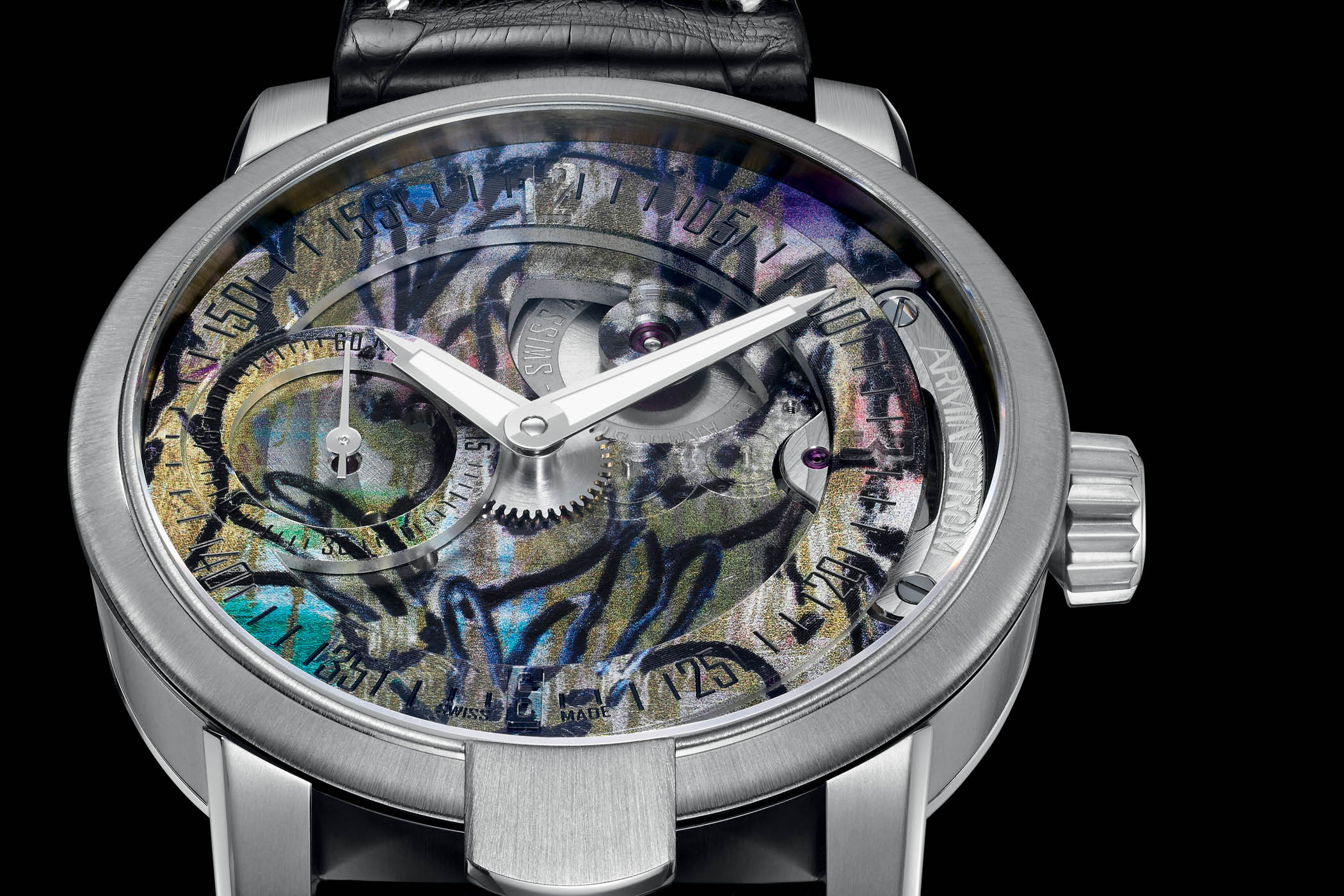 ARMIN STROM Manual Hunt Slonem Edition for Only Watch 2017