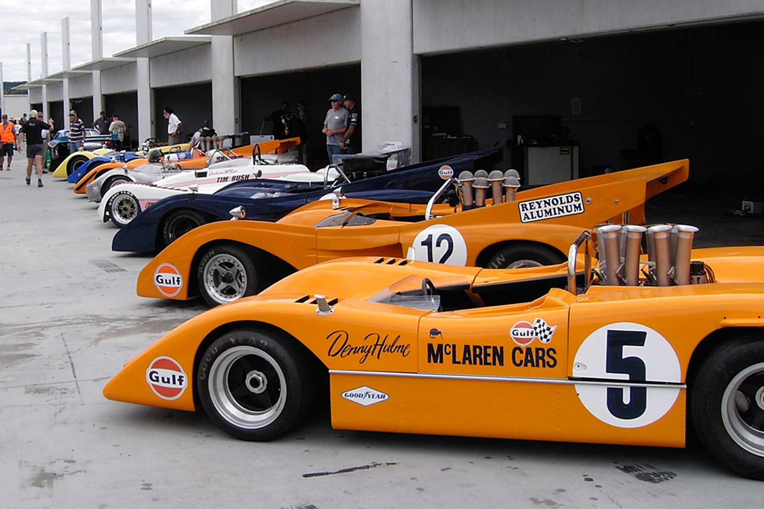 Can_Am_McLaren_M8A_and_M8F_and_others_
