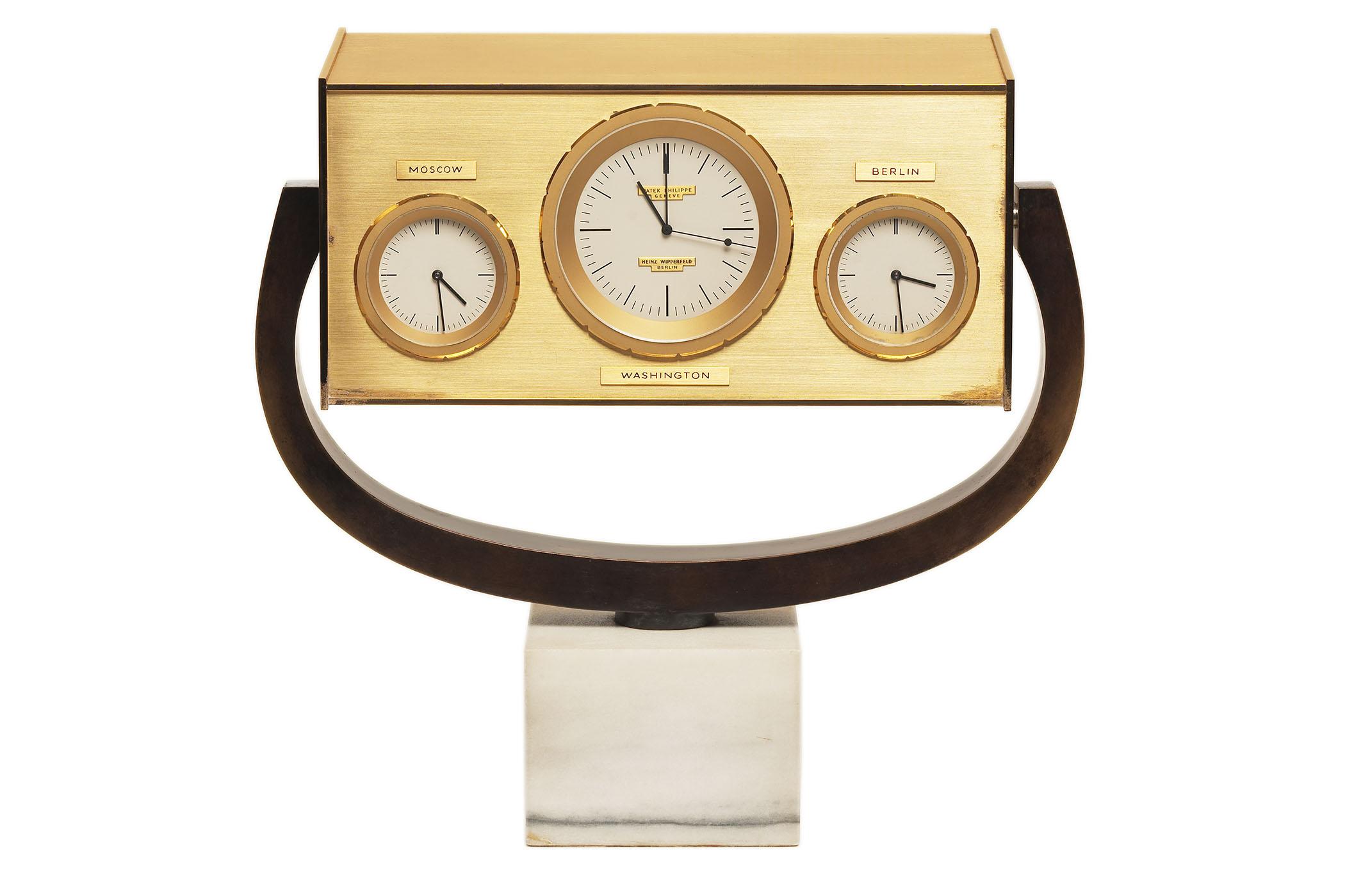 JFK Patek Philippe Desk clock