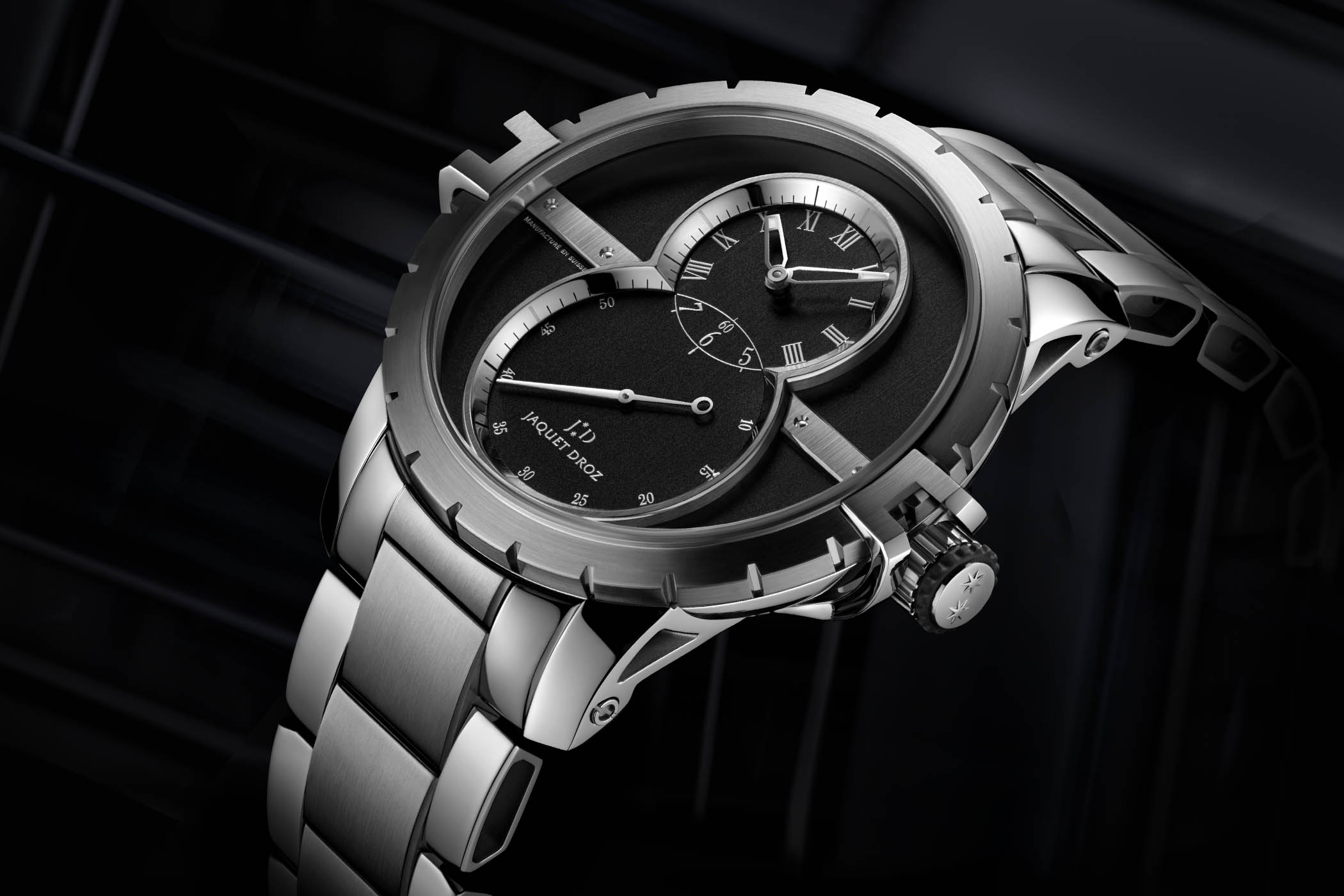 Jaquet Droz Grande Seconde SW - Sporty collection 2017