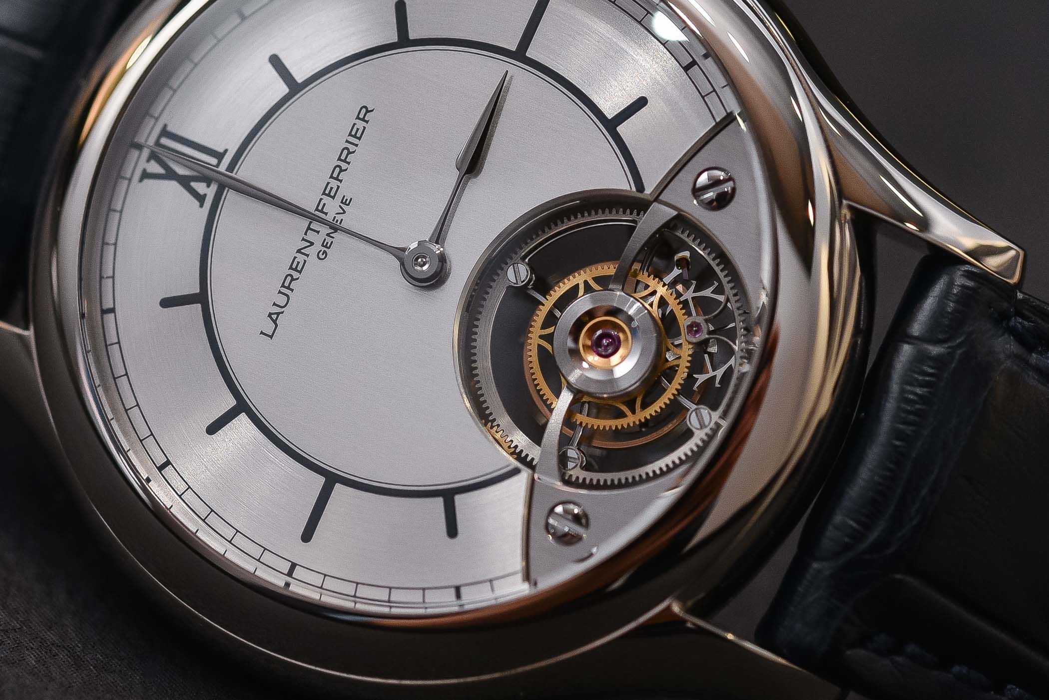 Laurent Ferrier Galet Classic Tourbillon Dual - Open dial