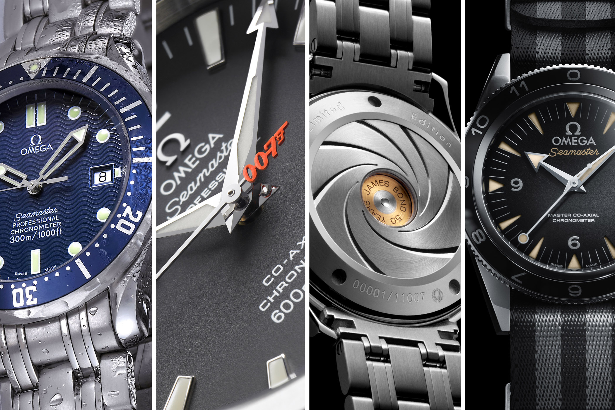 Omega Seamaster James Bond 007 history
