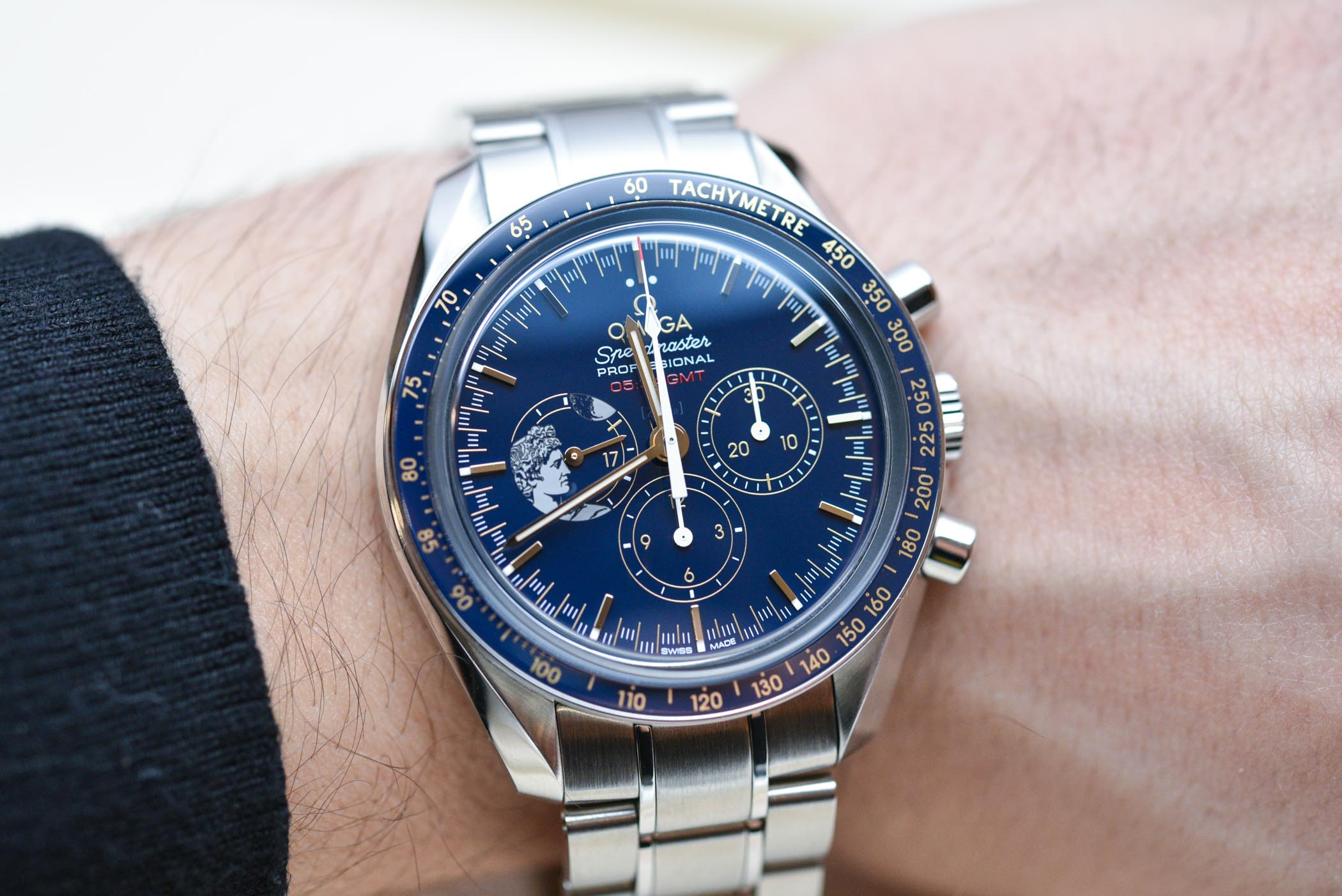 Omega Speedmaster Apollo 17 45th anniversary 'Tribute to Gene Cernan'