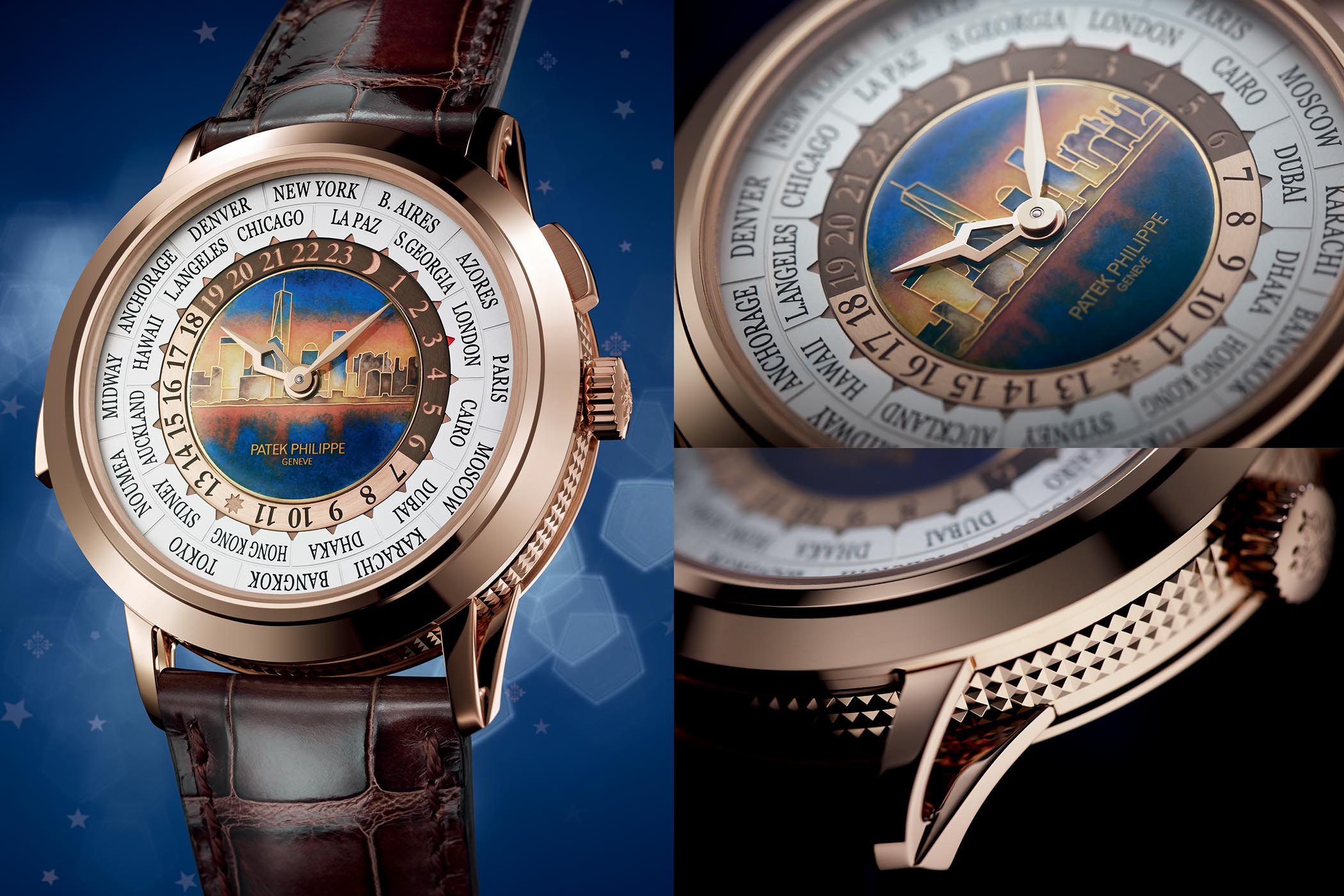 Patek Philippe Ref. 5531 World-Time Minute Repeater New-York Special Edition