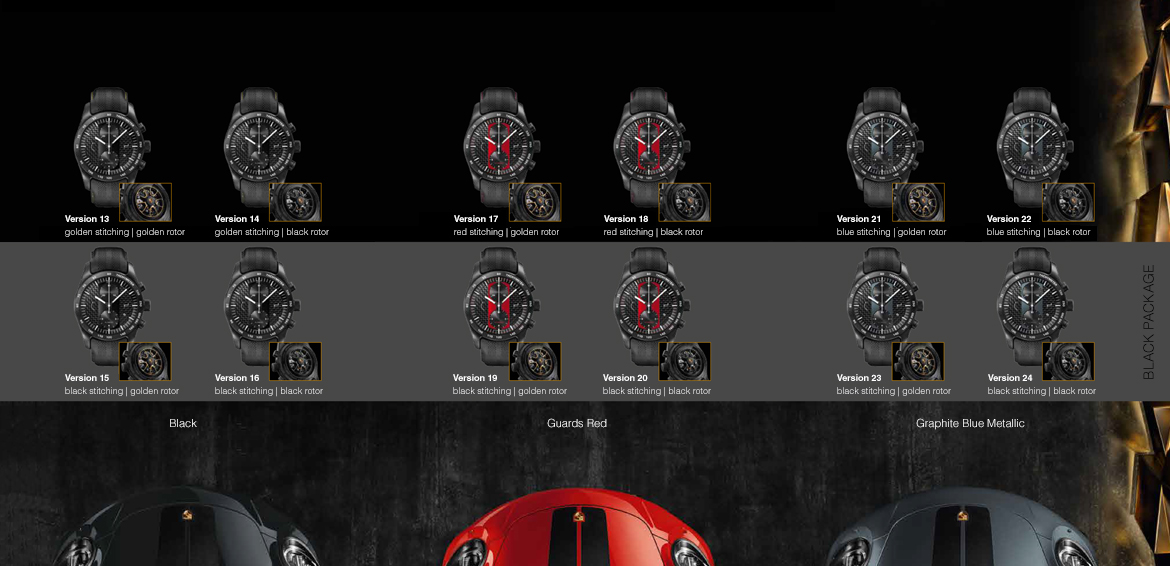 Porsche Design Chronograph Turbo S Exclusive Series overview1