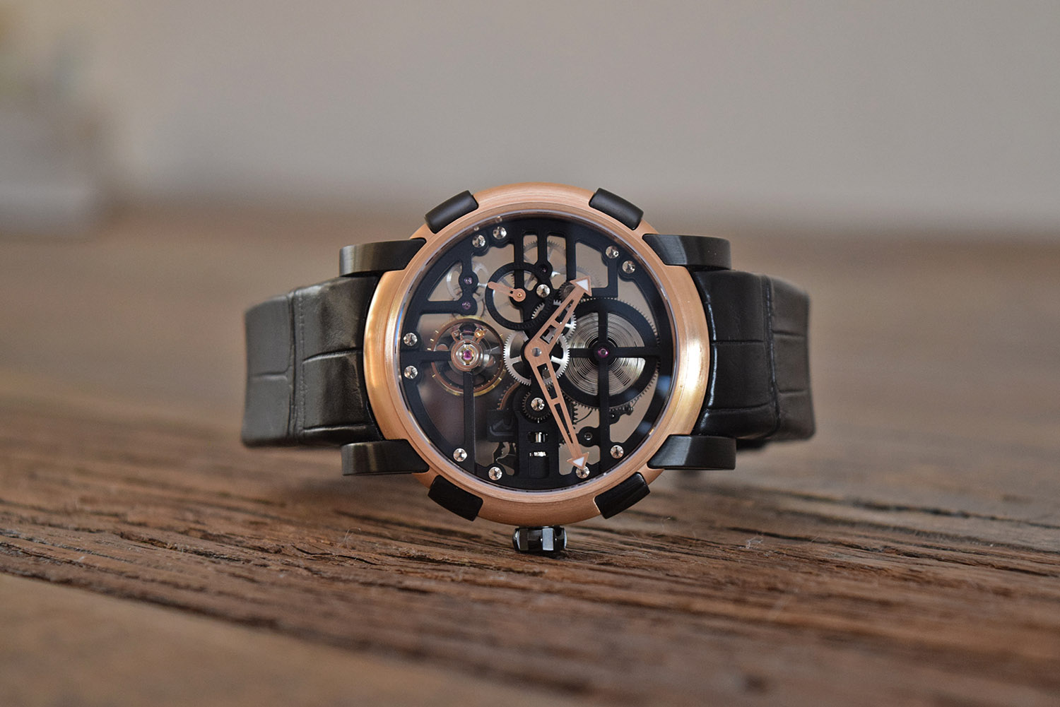 RJ-Romain Jerome Skylab 44 Red