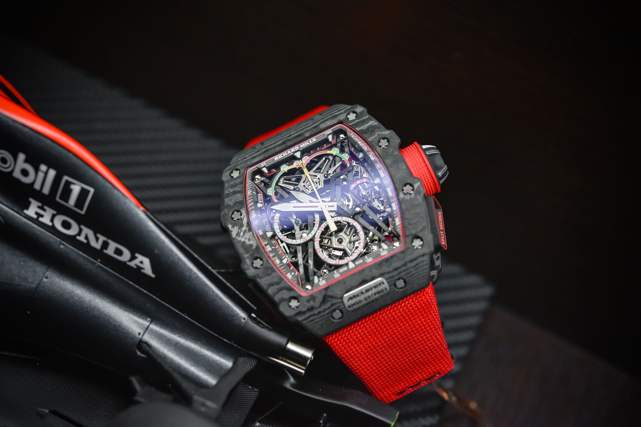 Richard Mille RM 50-03 Tourbillon SPlit Seconds Chronograph McLaren F1