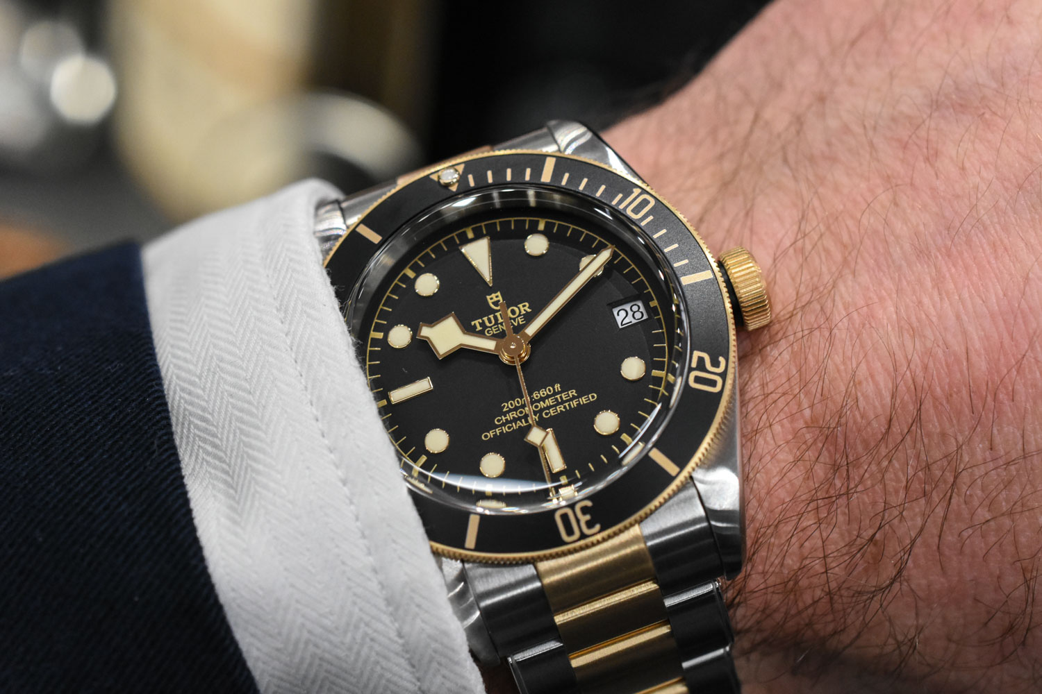 Tudor Heritage Black Bay Steel and Gold - M79733N