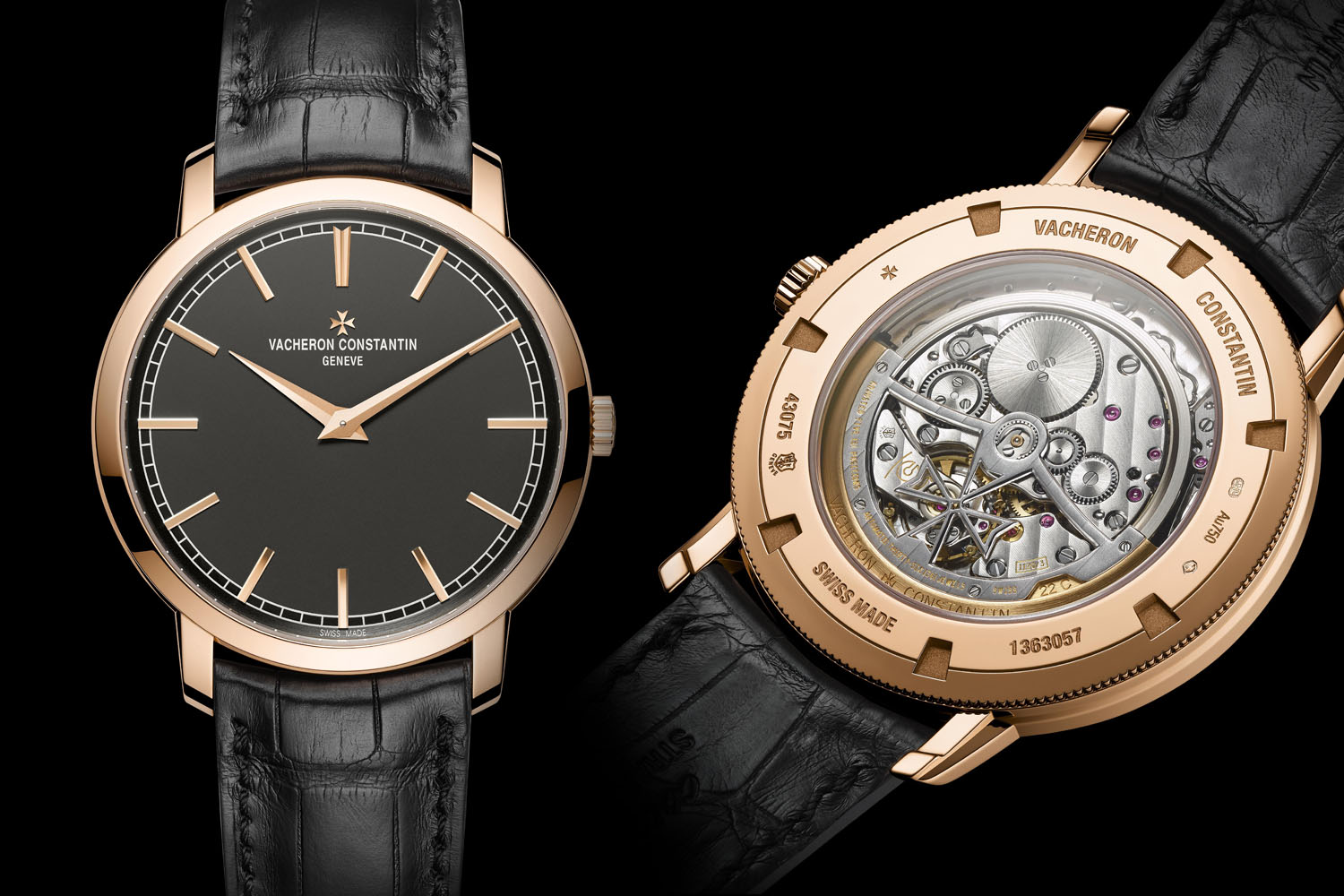 Vacheron Constantin Traditionnelle ultra-thin slate grey