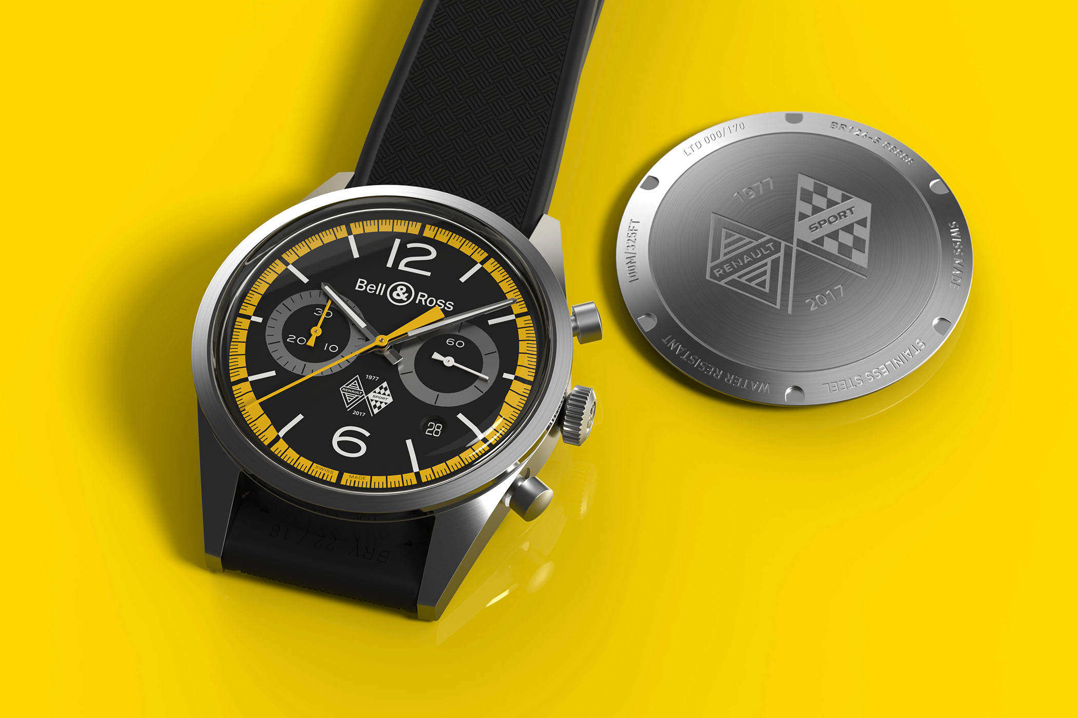 the latest e3f1c 36232 Introducing - Bell & Ross BR126 Renault Sport 40th ...