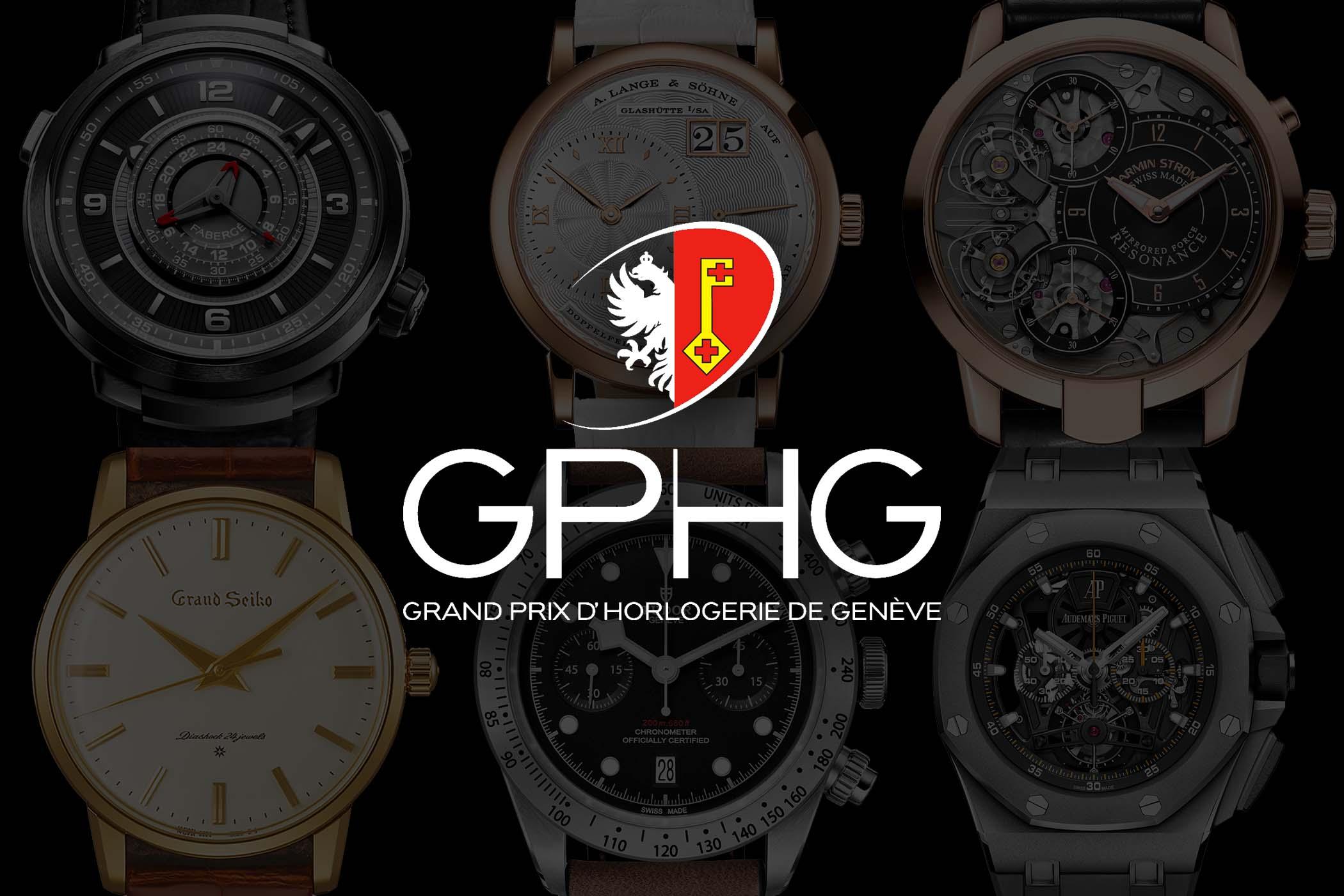GPHG 2017 grand prix horlogerie de Geneve - Finalists announced