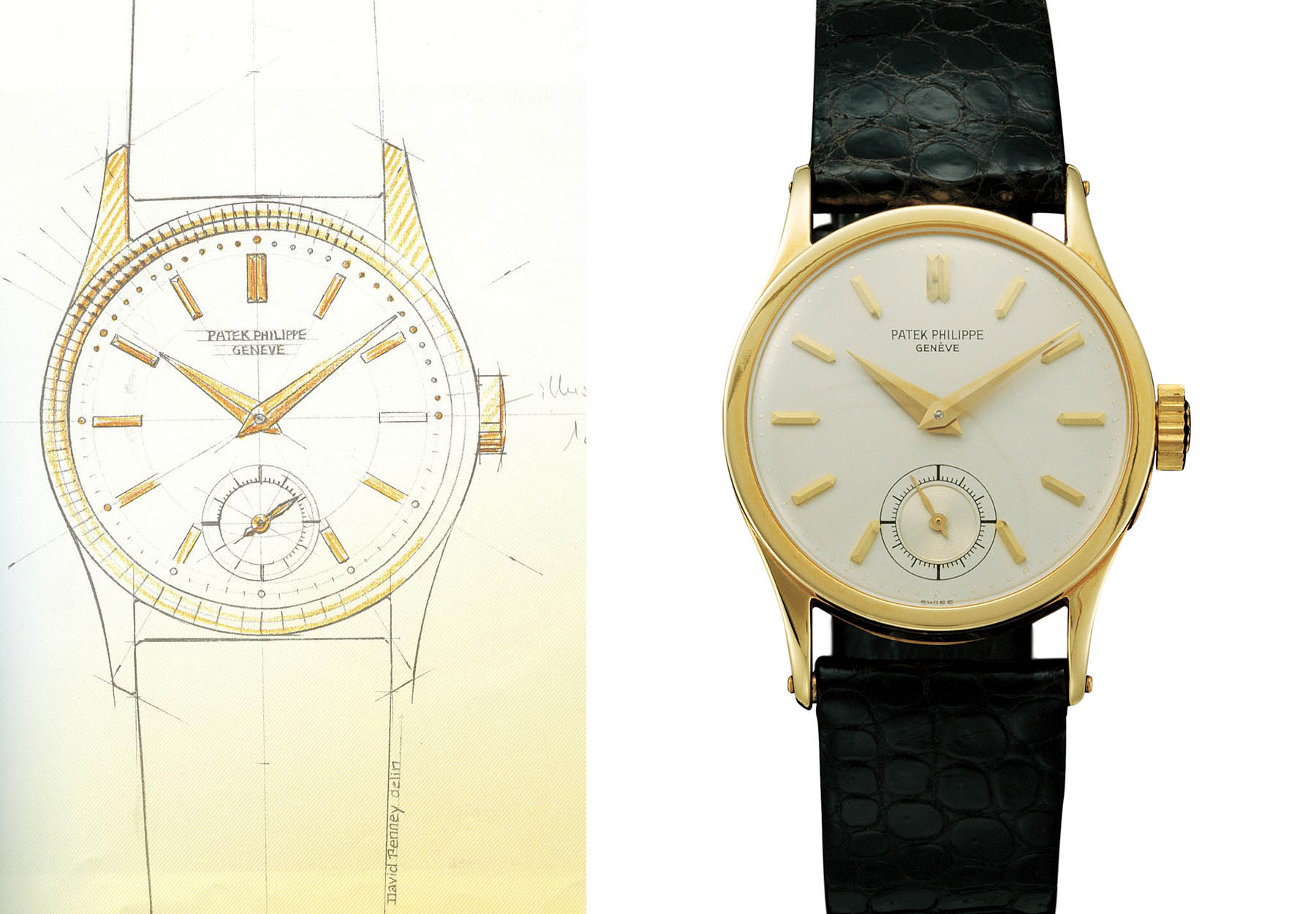 History Patek Philippe Calatrava - Reference 96 original drawing 1932