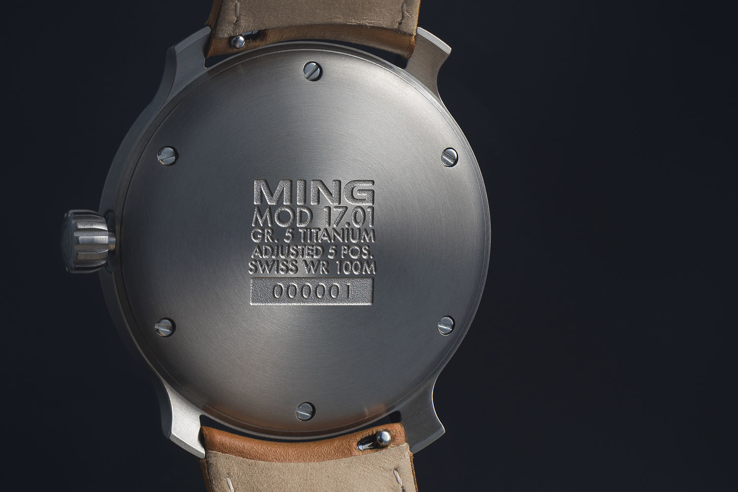 Ming 17.01 - Created by Famed Watch Photographer Ming Thein