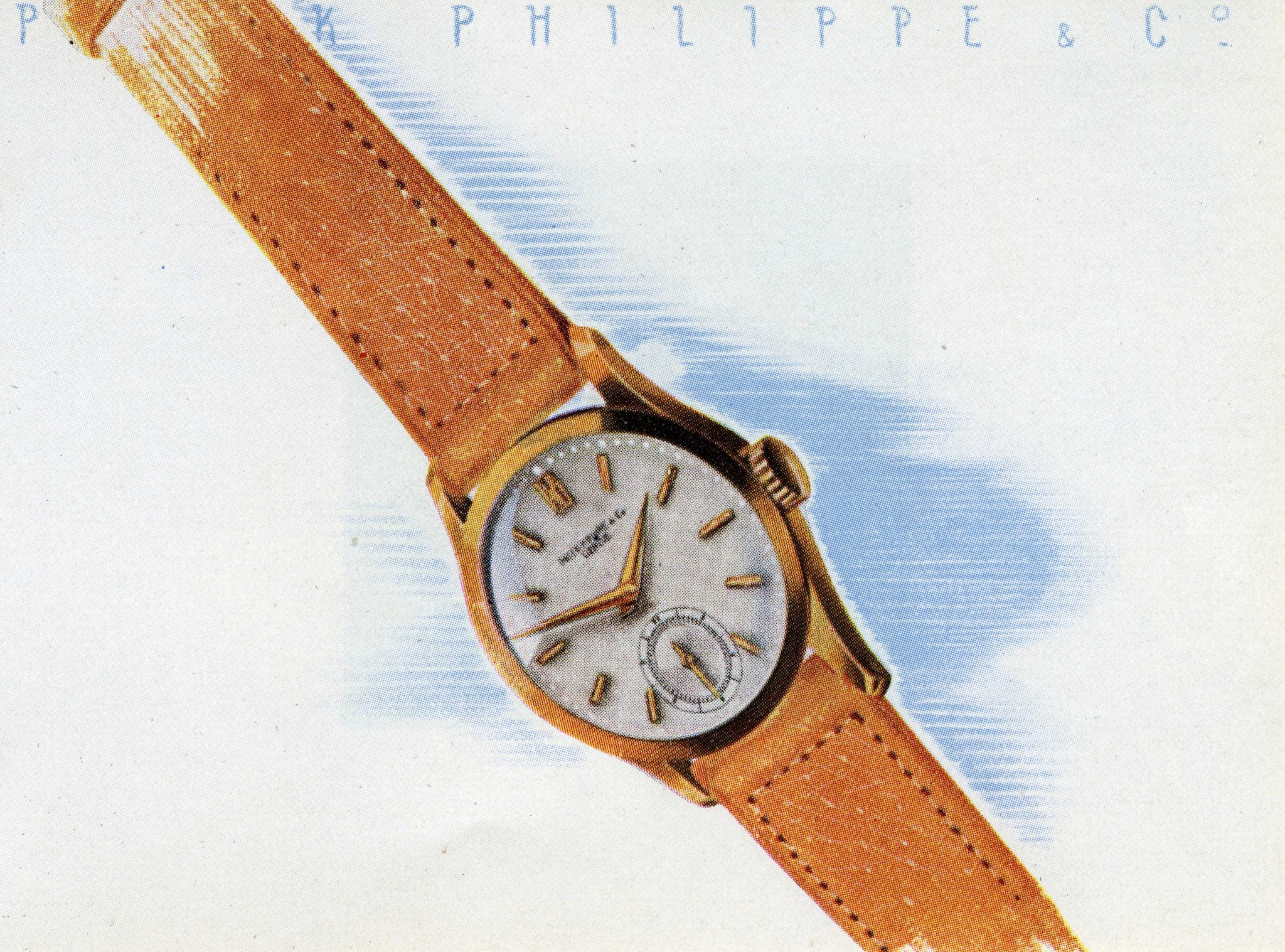 Patek Philippe Calatrava history - Reference 96 - 1940s advertising