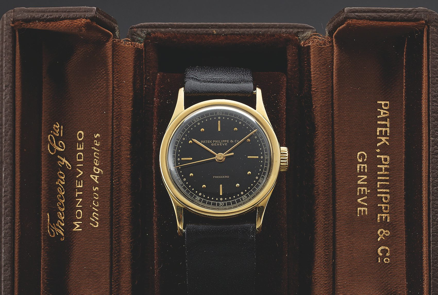 Patek Philippe Calatrava history - Reference 96 central second - source antiquorum