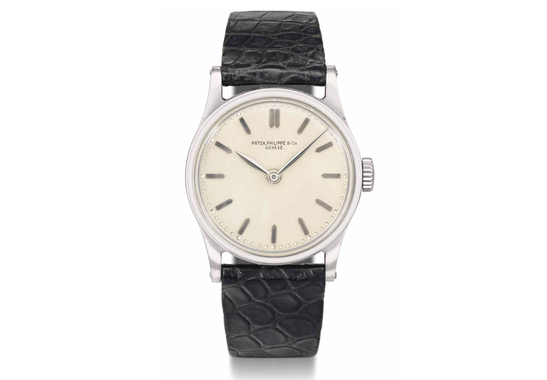Patek Philippe Calatrava history - Reference 96 no second - source christies
