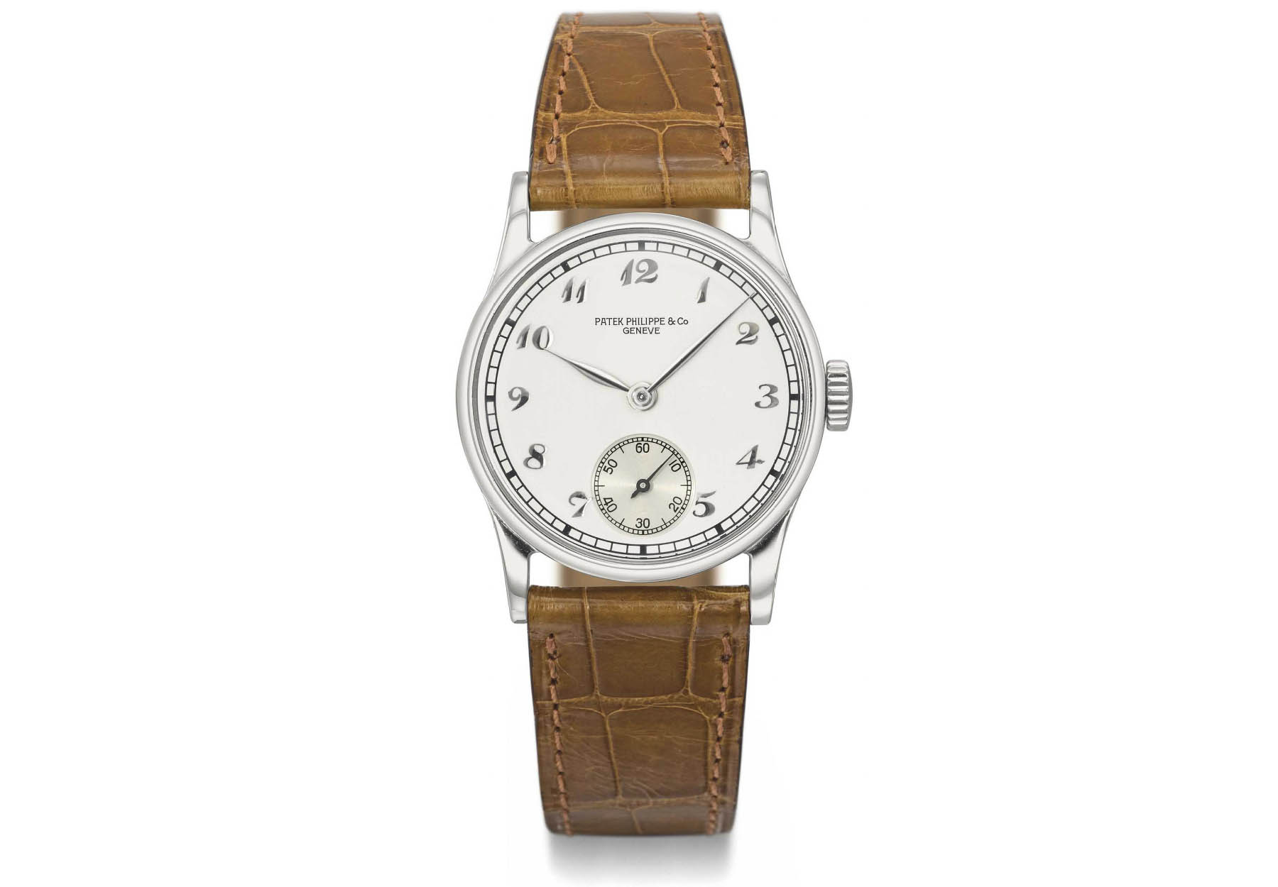Patek Philippe Calatrava history - Reference 96 breguet numerals - source christies
