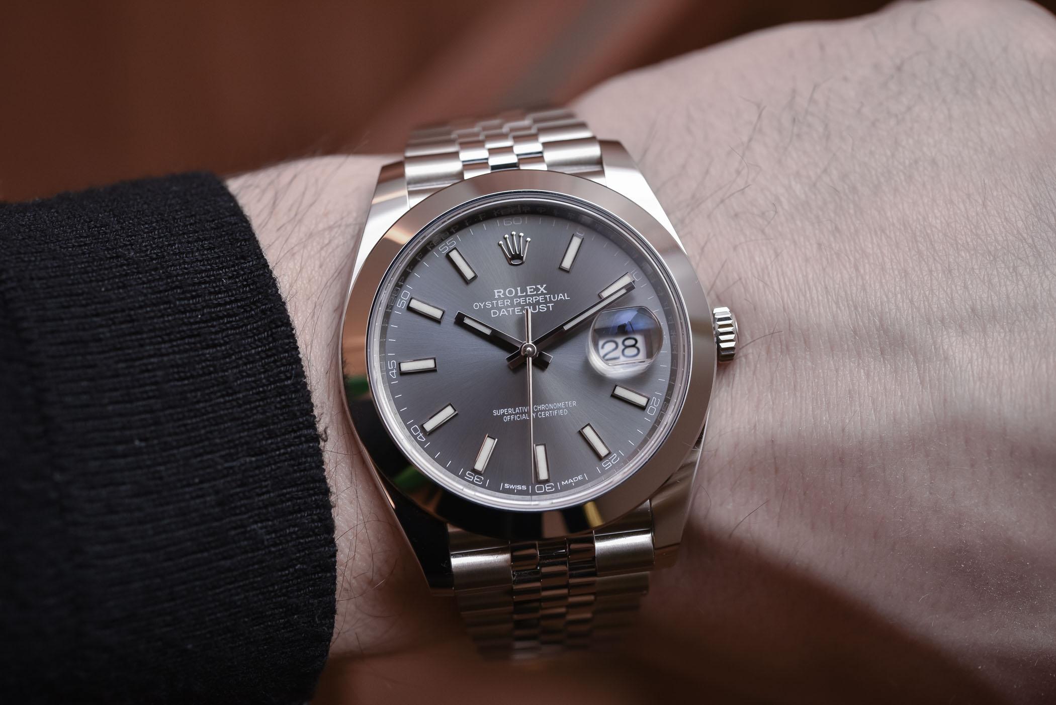 Rolex Datejust 41 steel ref. 126300 jubilee