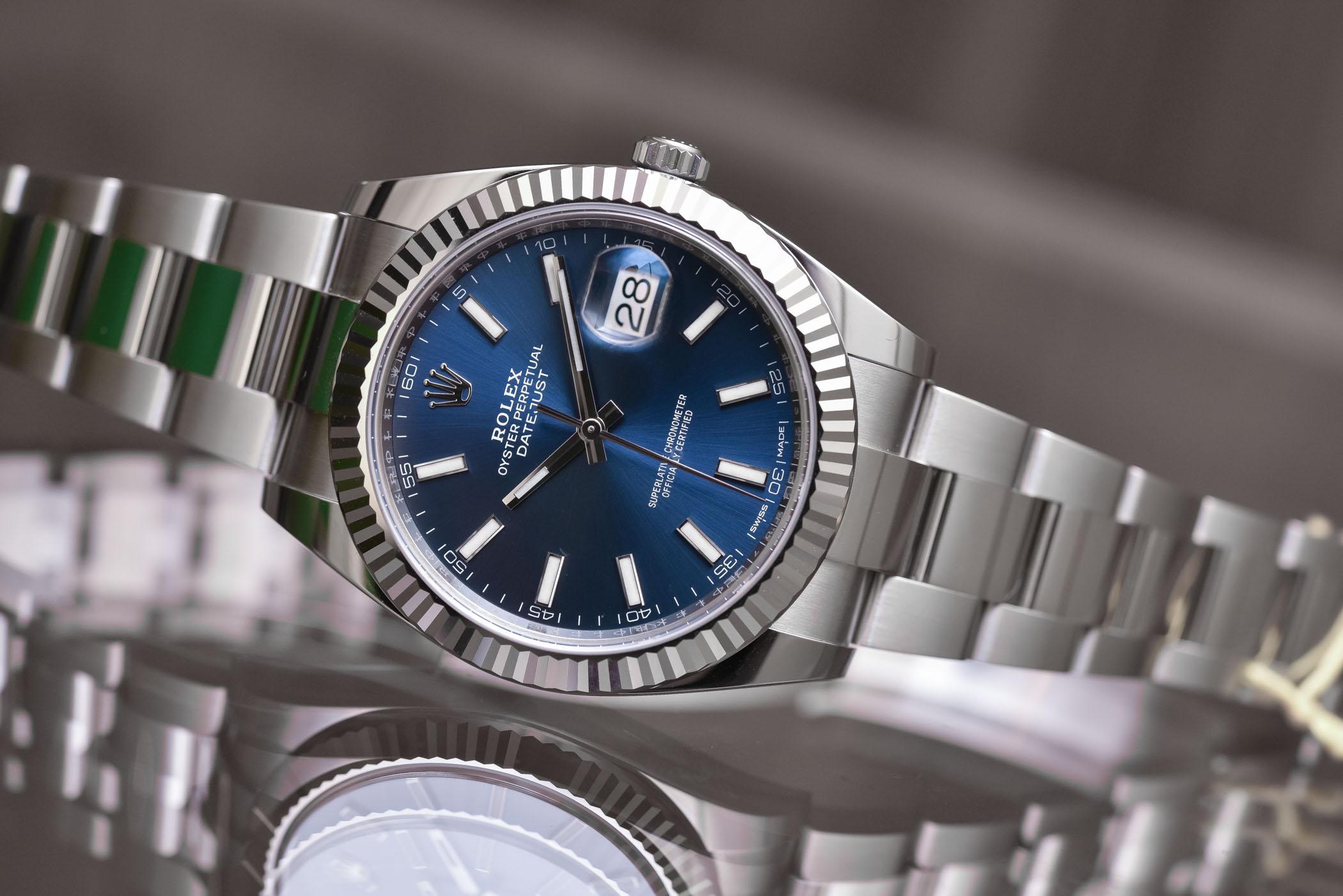 Rolex Datejust 41 steel - 2017 ref 126334