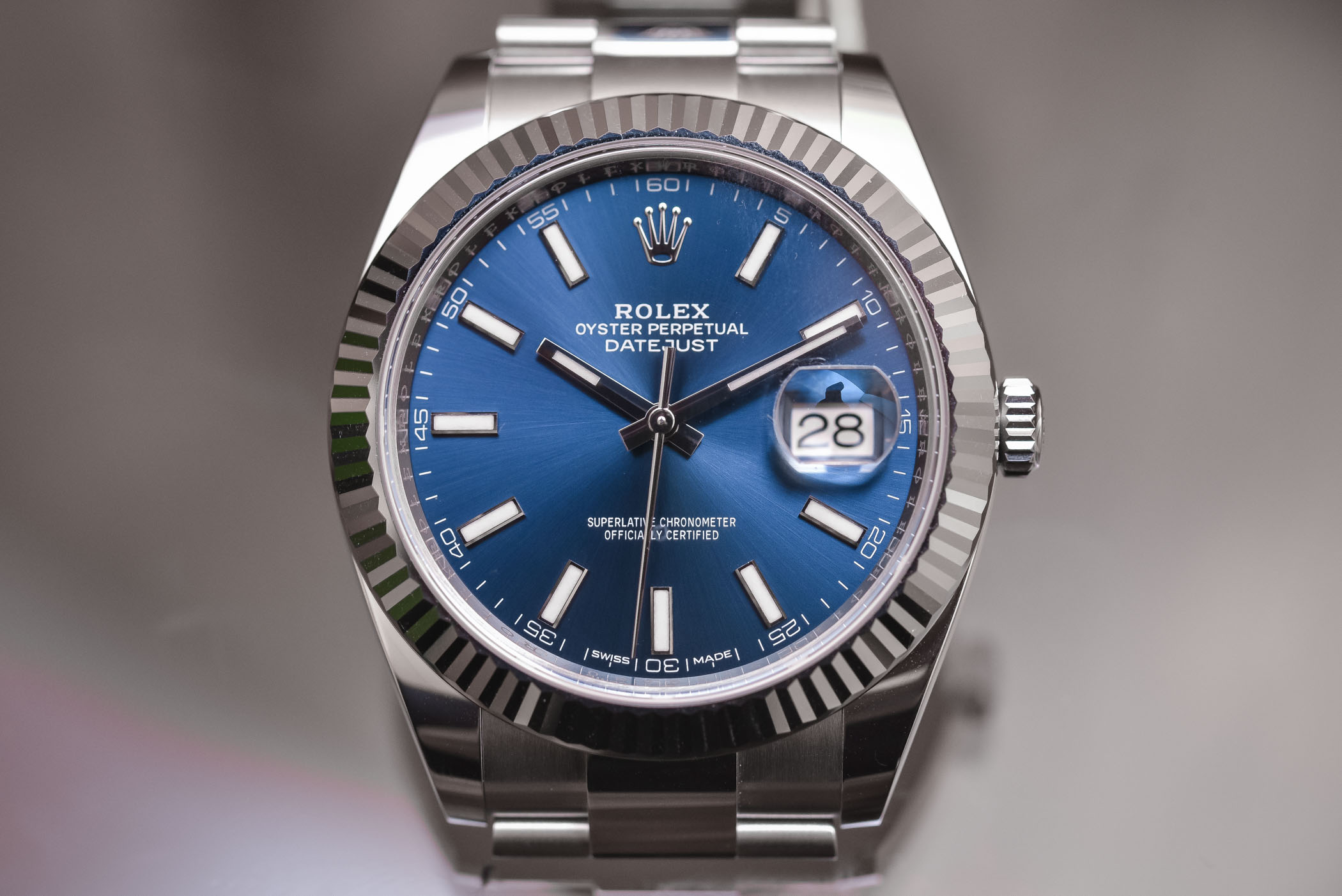 Rolex Datejust 41 steel ref. 126334 oyster