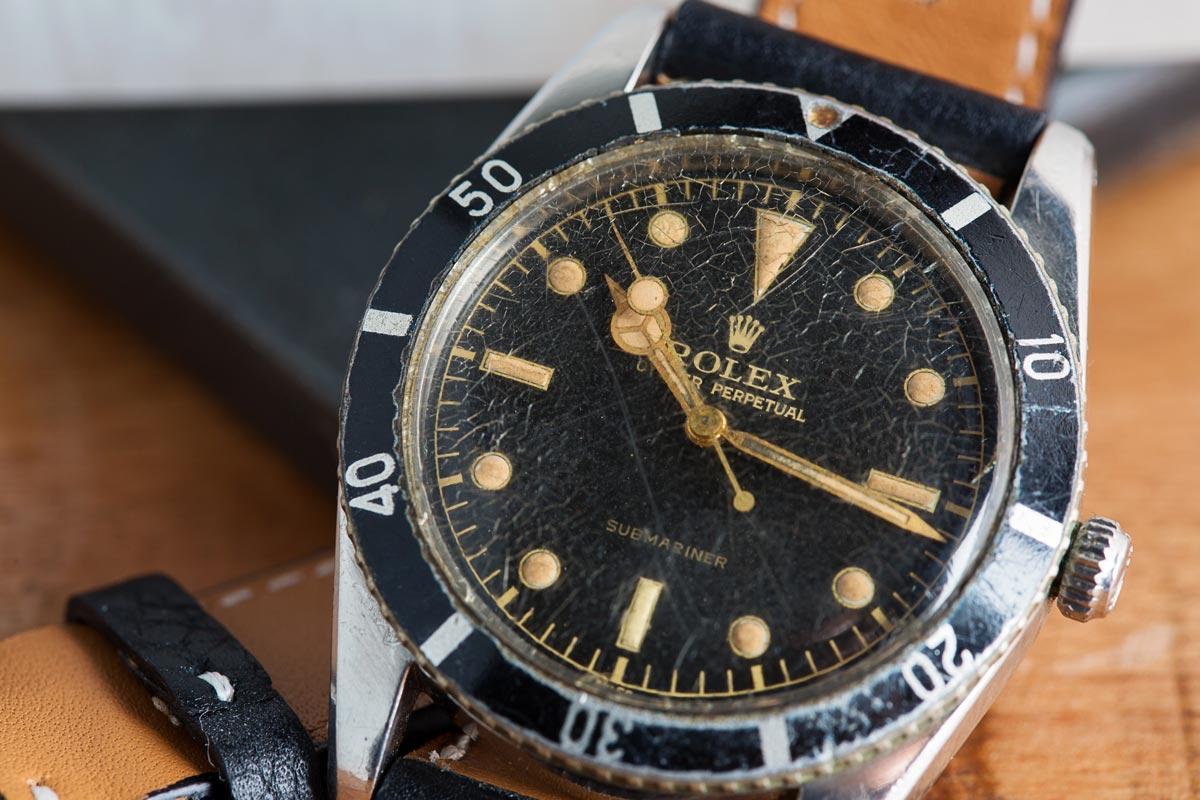 Rolex Submariner 6204 very first Submariner