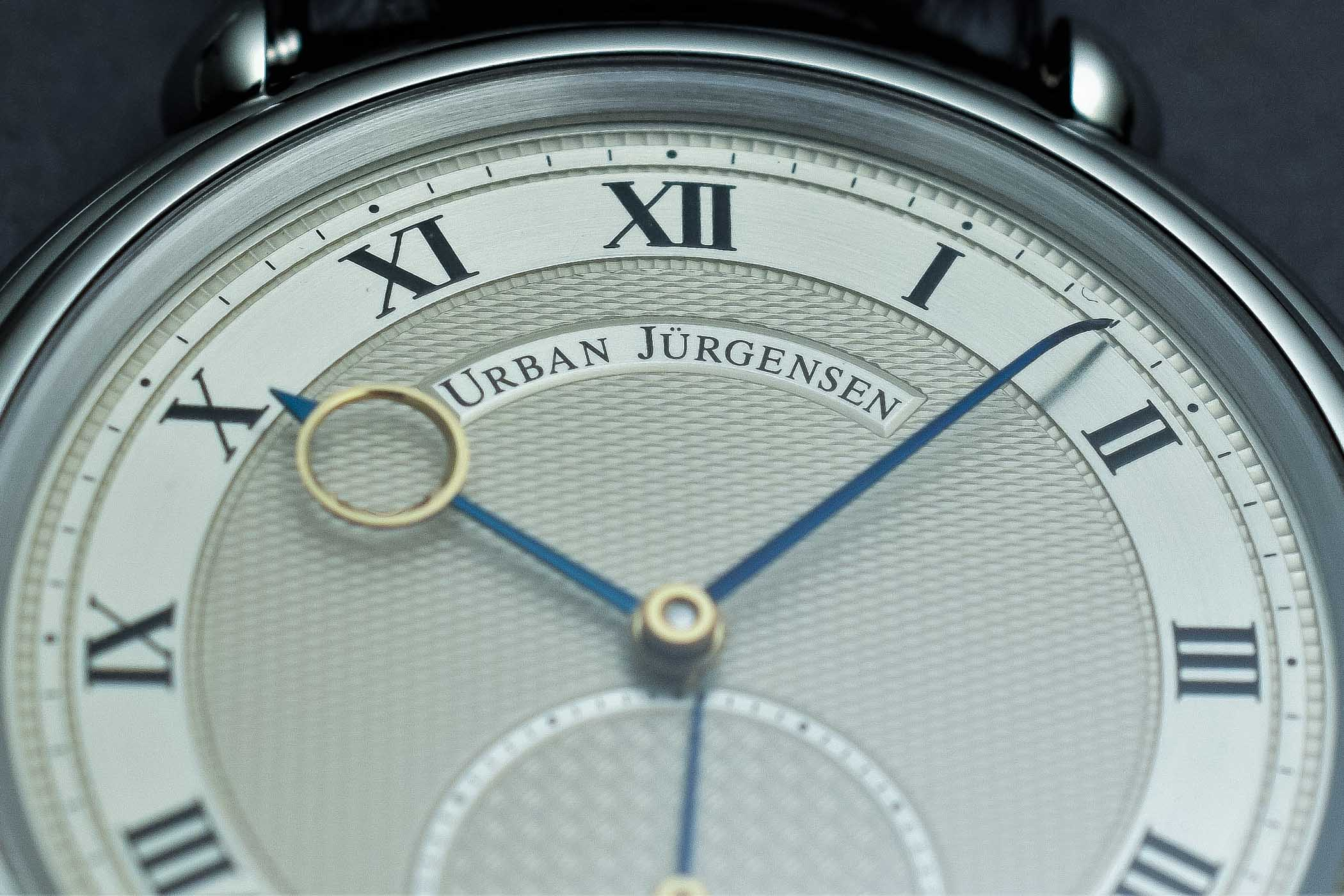 Urban Jurgensen Reference Big 8 Steel - review