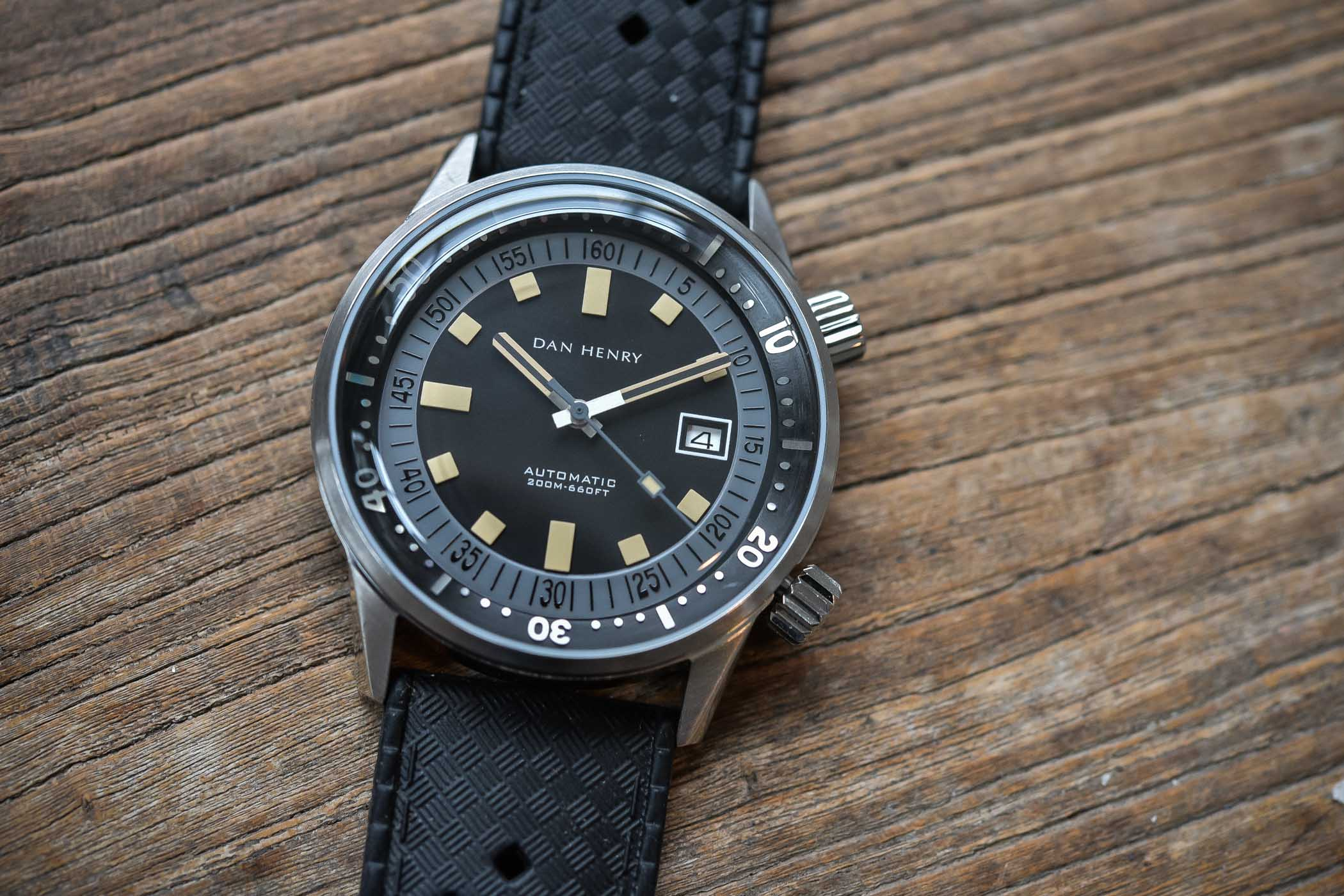 Dan Henry 1970 Automatic Diver Compressor - review