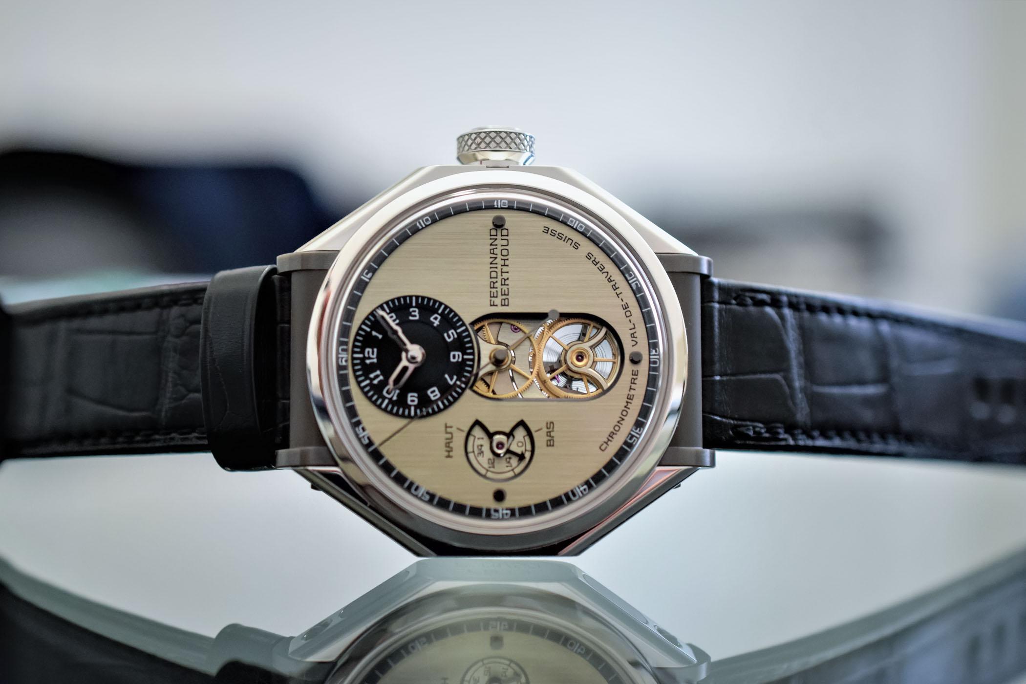 Ferdinand Berthoud Chronometre FB1 Platinum