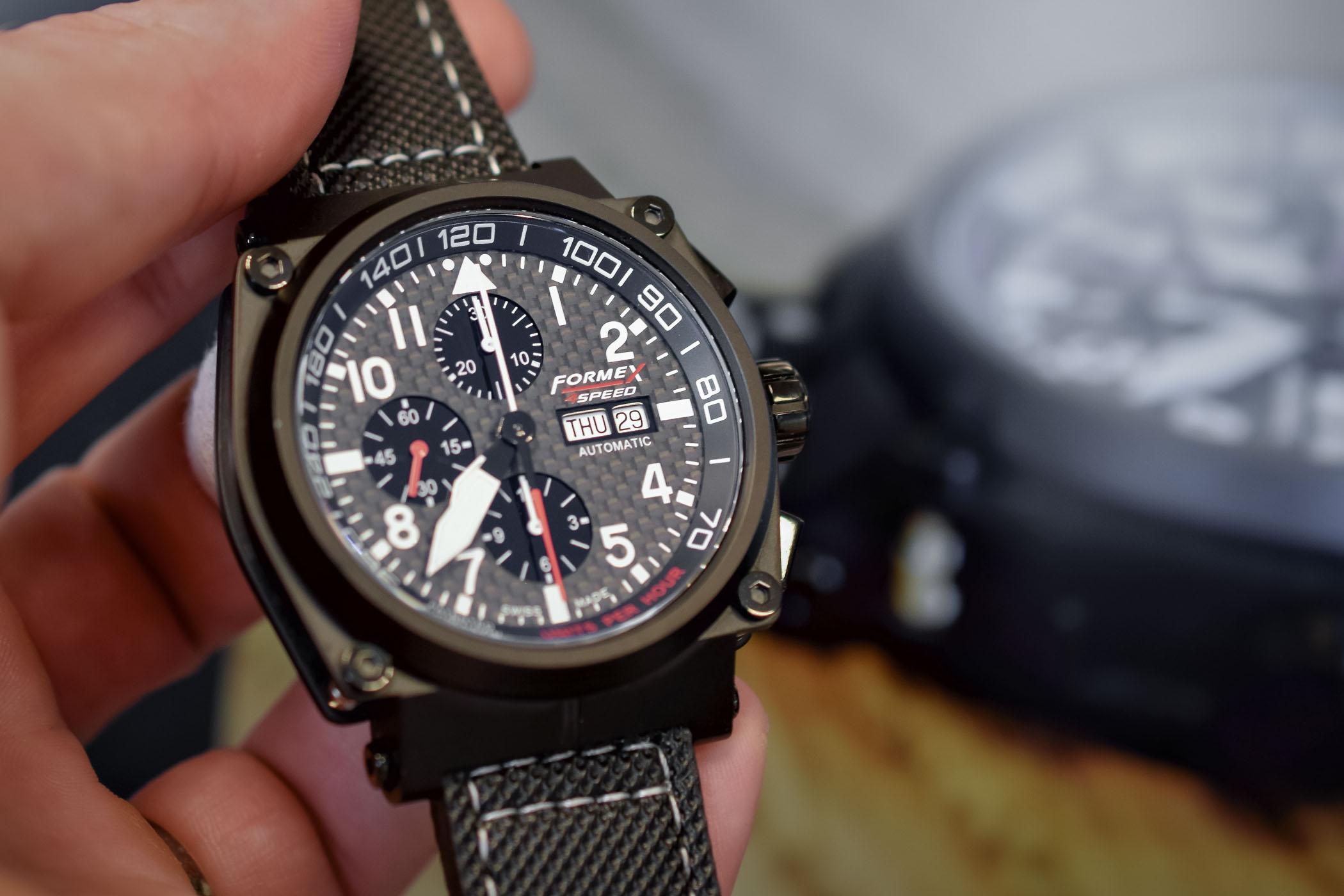 Formex AS1100 Chronograph Carbon