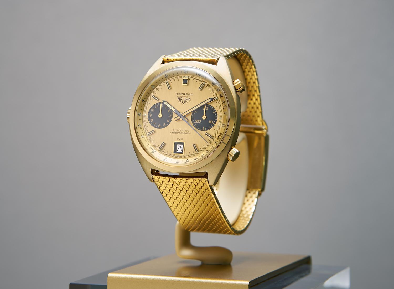 Heuer Globetrotter Exhibition - Carrera Gold (Singapore centrepiece)