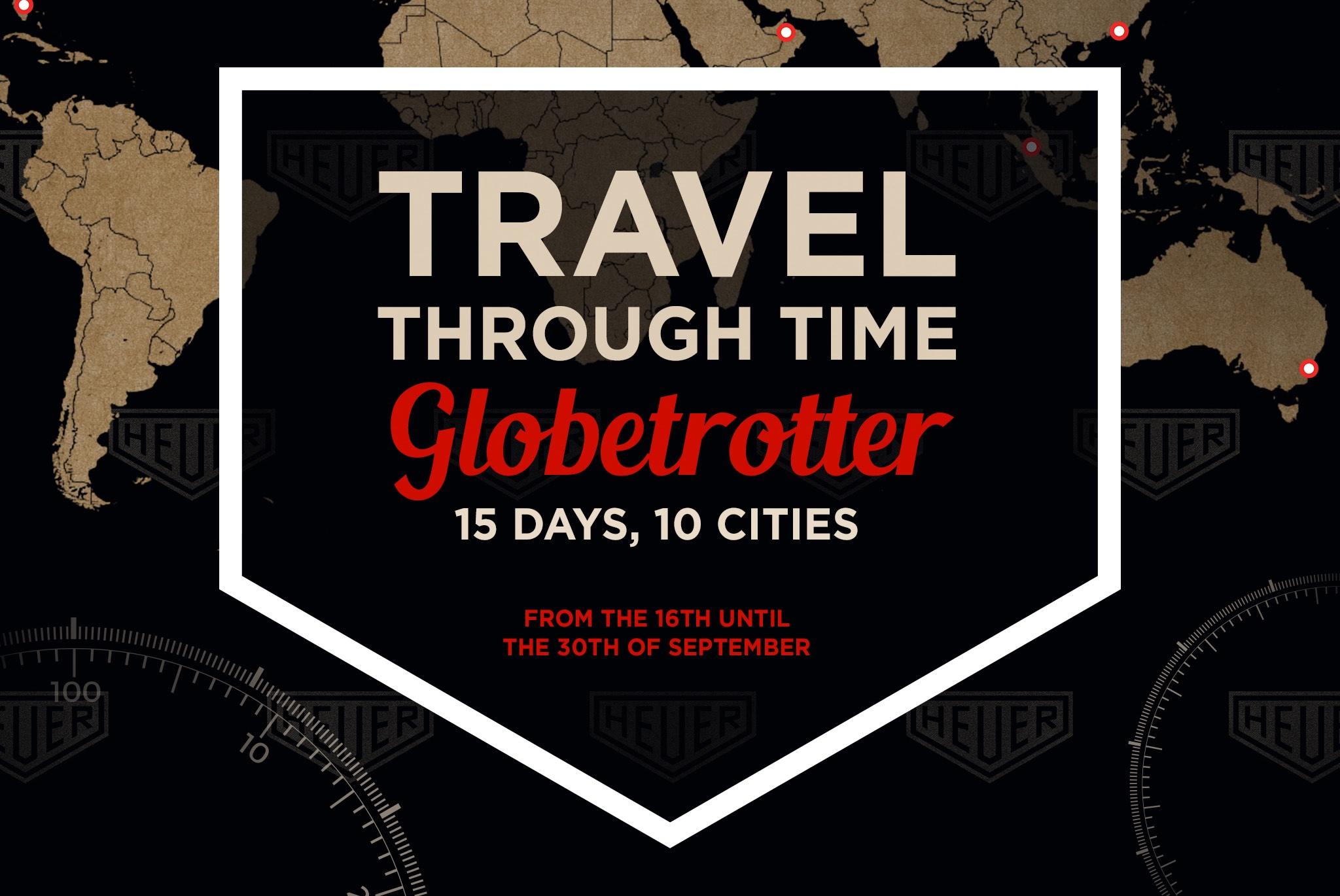 Heuer Globetrotter Exhibition