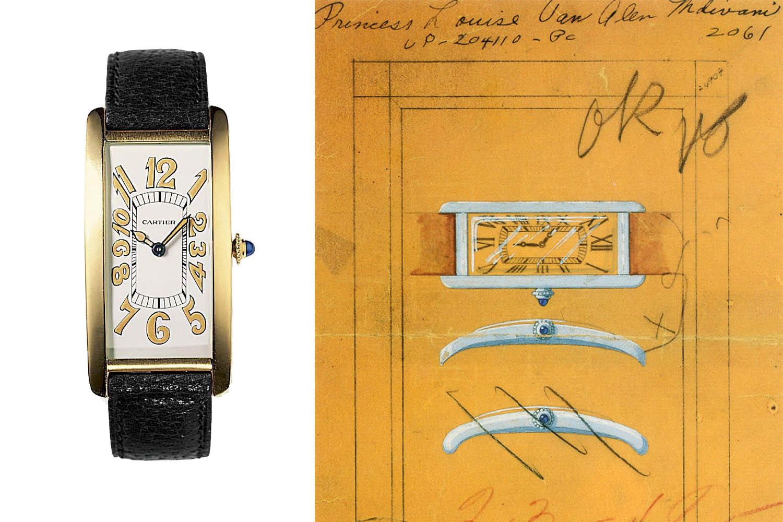 History Cartier Tank 100 years – 1921 Cartier Tank Cintree