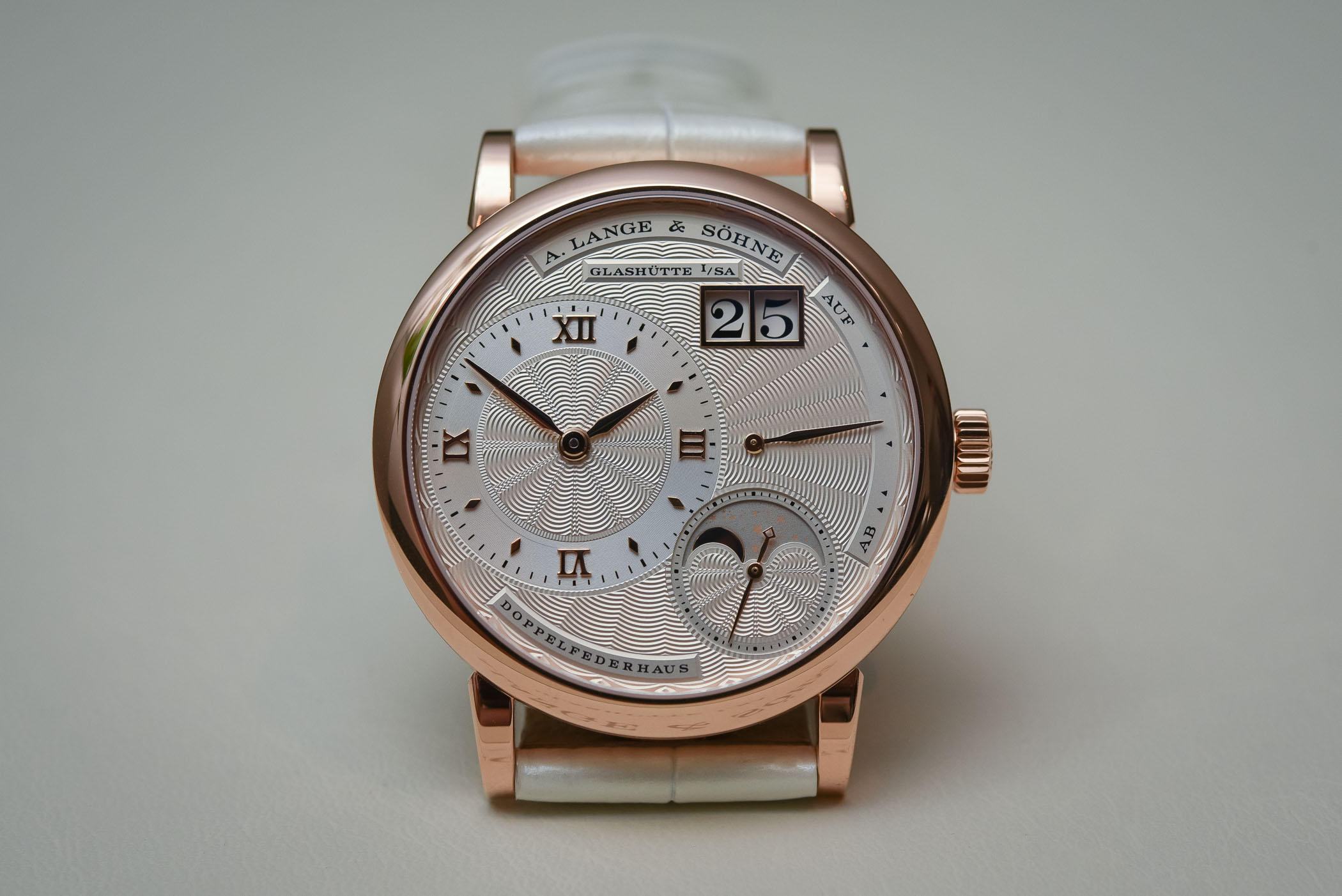 A. Lange and Sohne Little Lange 1 Moon Phase
