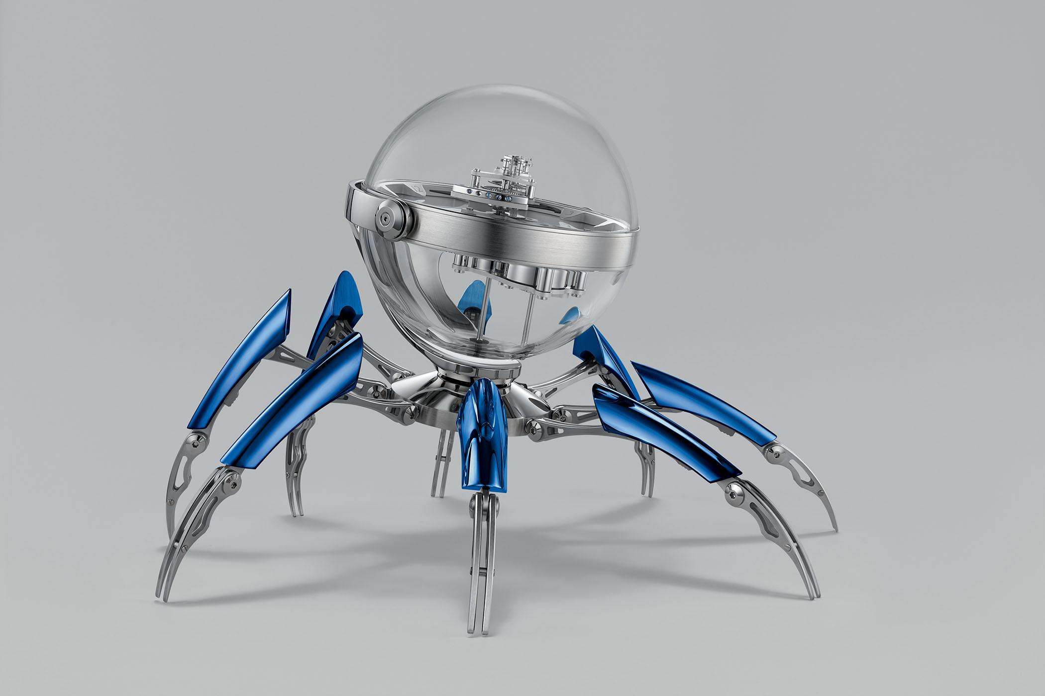 MBandF Octopod Table clock l'epee