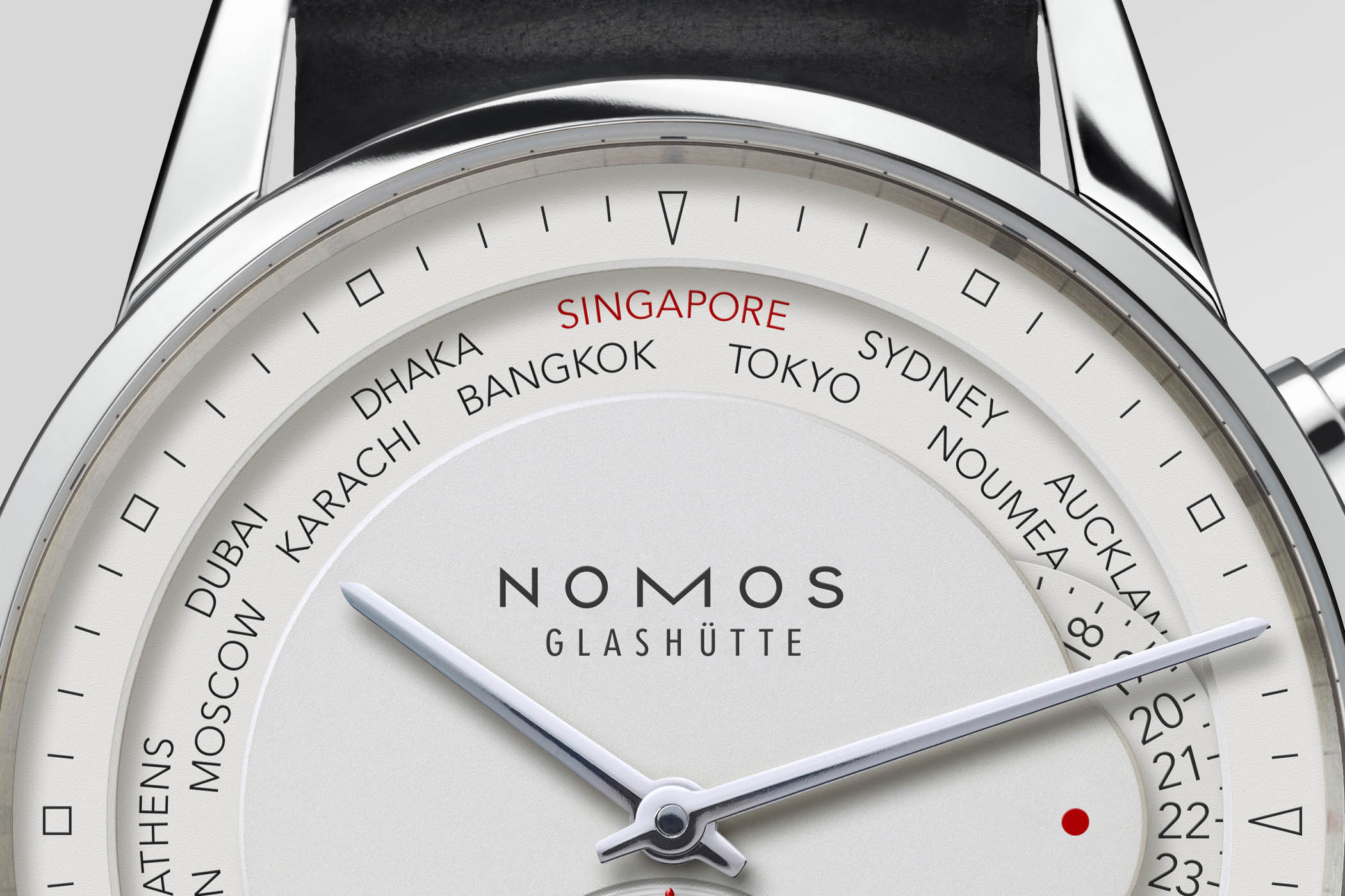 Nomos Zurich Weltzeit Limited Edition Singapore