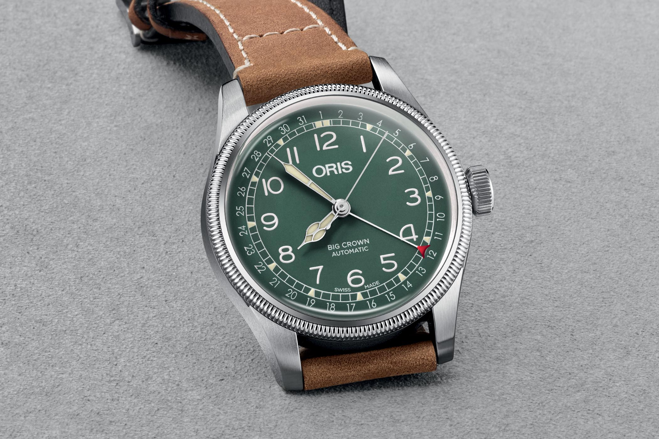 af83585a9d2 Introducing - Oris Big Crown Pointer Date D.26 286 HB-RAG Limited ...