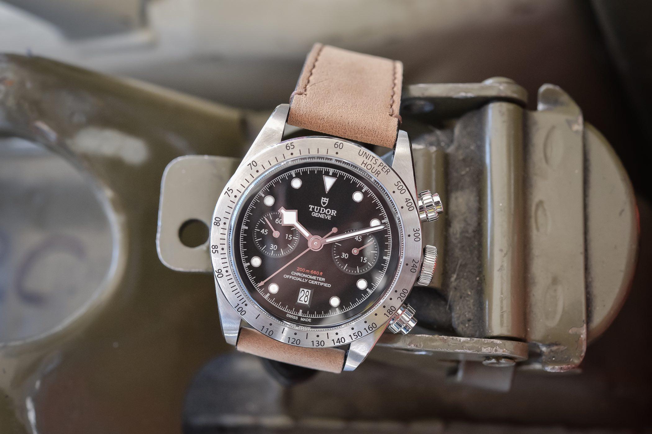 Tudor Black Bay Chrono M79350