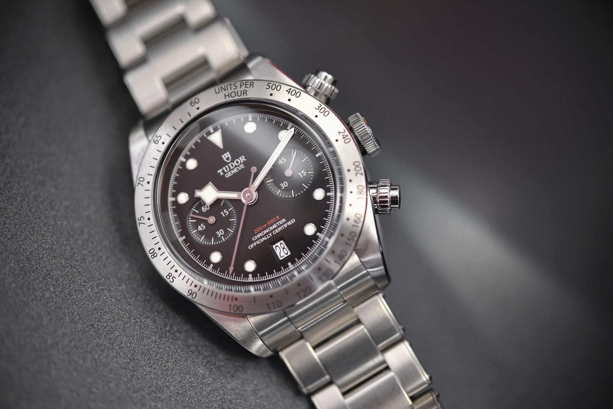 6162b25685e Review - Tudor Heritage Black Bay Chrono M79350 (Specs & Price)