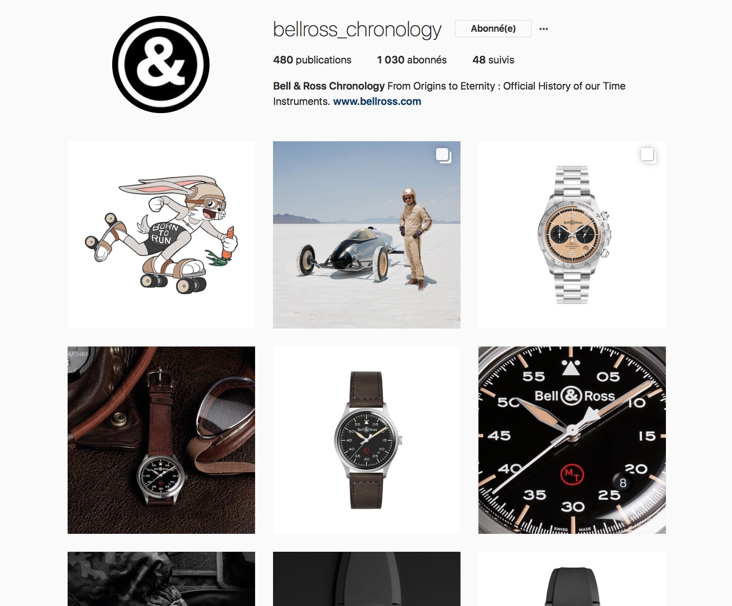 bellross_chronology Instagram