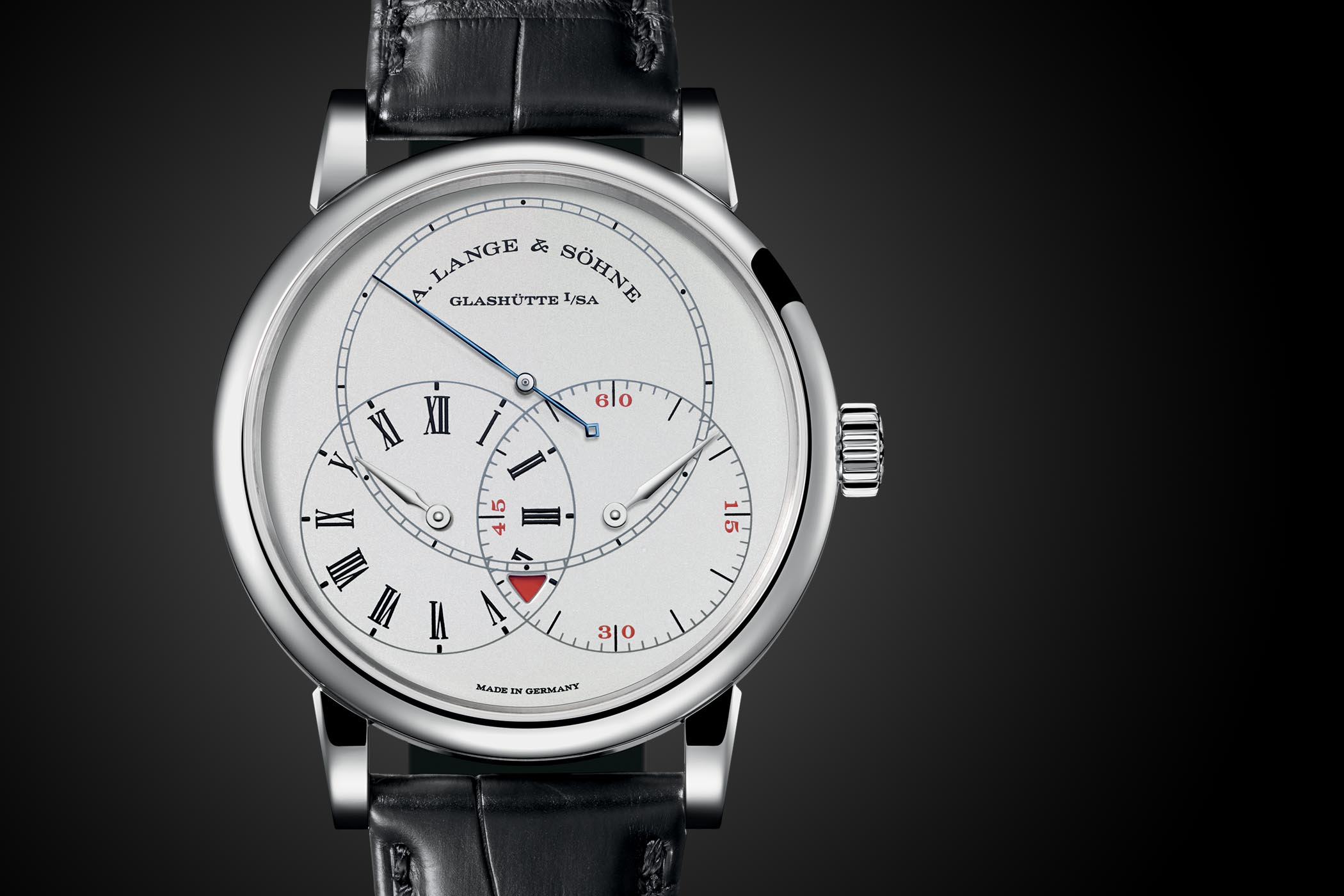 A. Lange and Sohne Richard Lange Jumping Seconds Platinum - 252.025