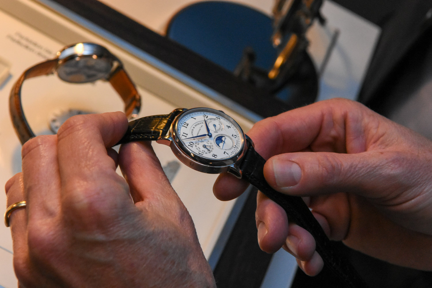 A. lange and Sohne X Monochrome-Watches event recap - 91