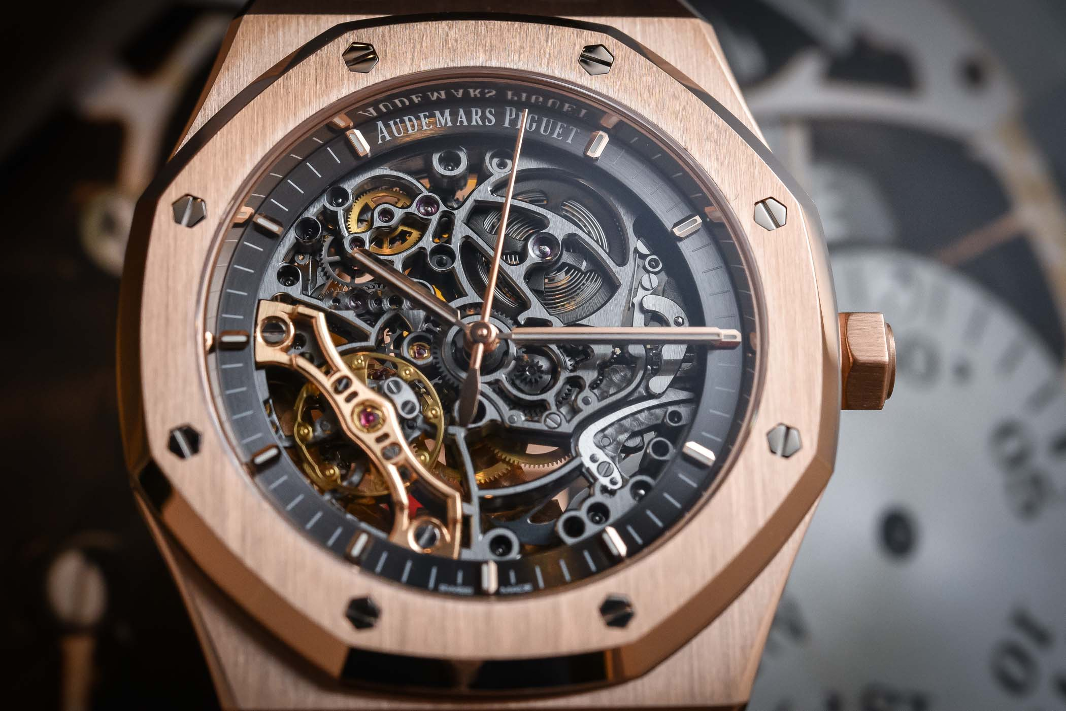 f77e6851f0 Audemars Piguet Royal Oak Double Balance Wheel Openworked 15407
