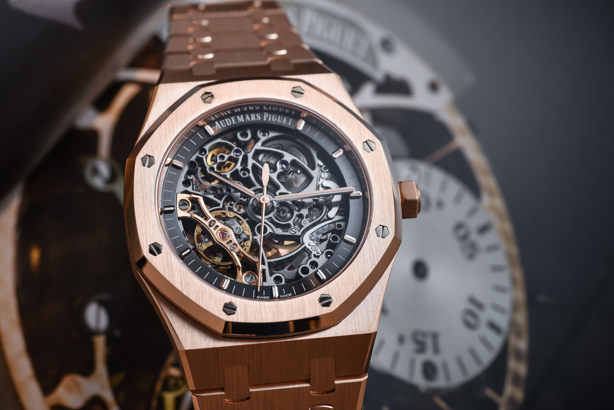 Audemars Piguet Royal Oak Double Balance Wheel Openworked 15407